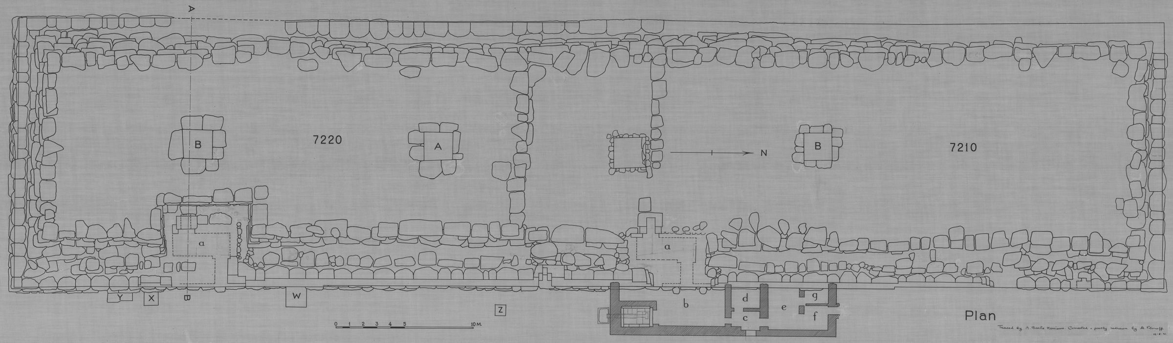 Maps and plans: Plan of G 7210-7220