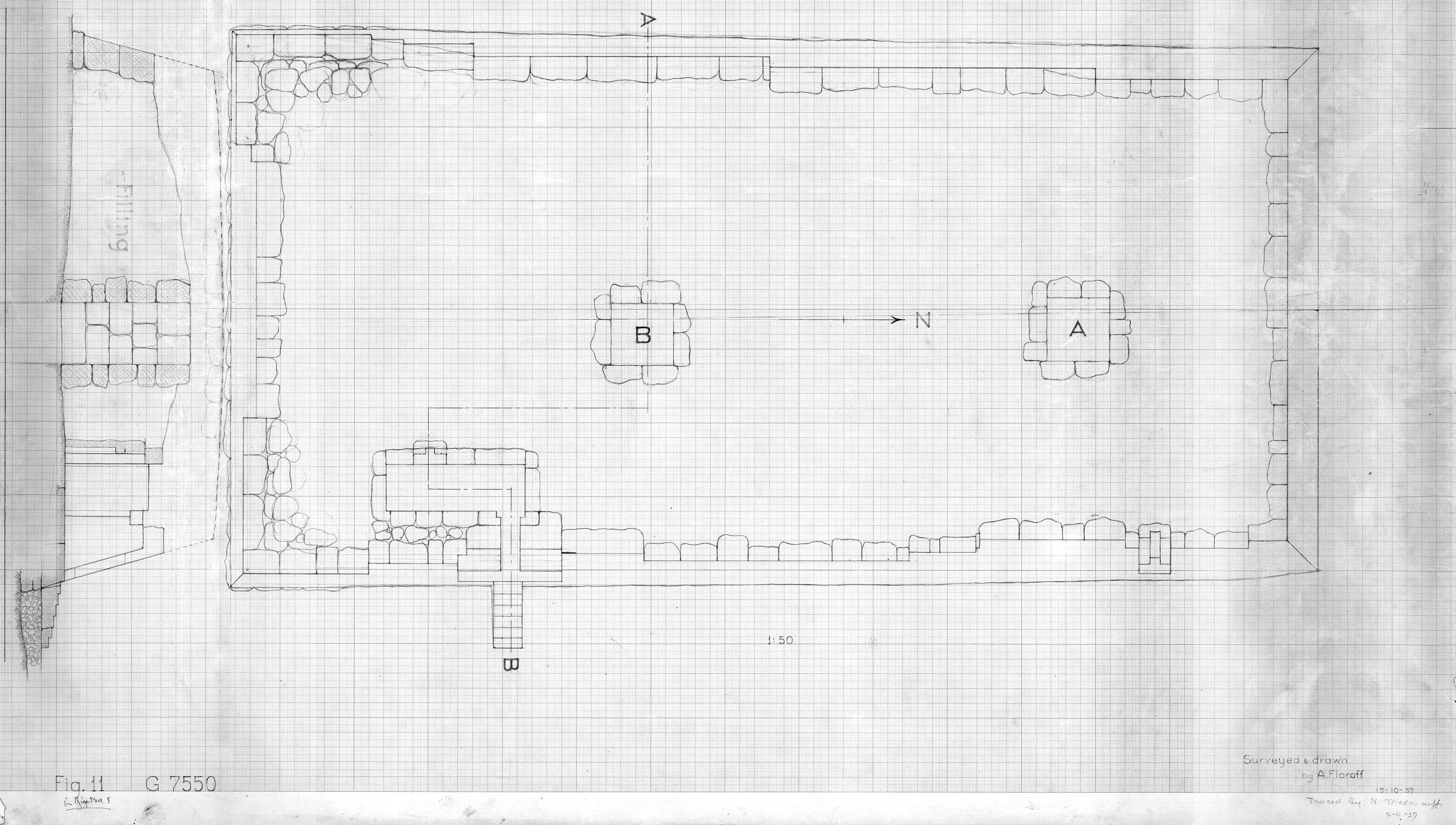 Maps and plans: Plan of G 7550