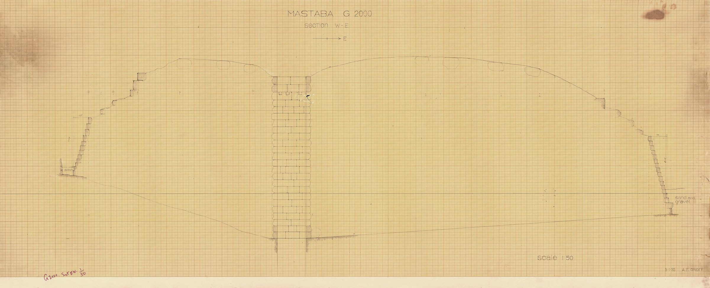 Maps and plans: G 2000 = Lepsius 23, Section