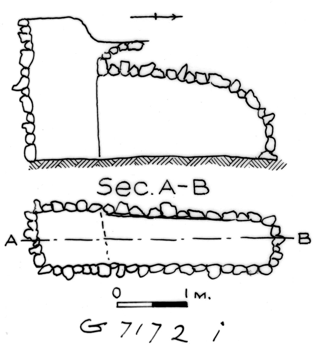 Maps and plans: G 7172, Shaft I