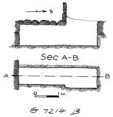Maps and plans: G 7214, Shaft B