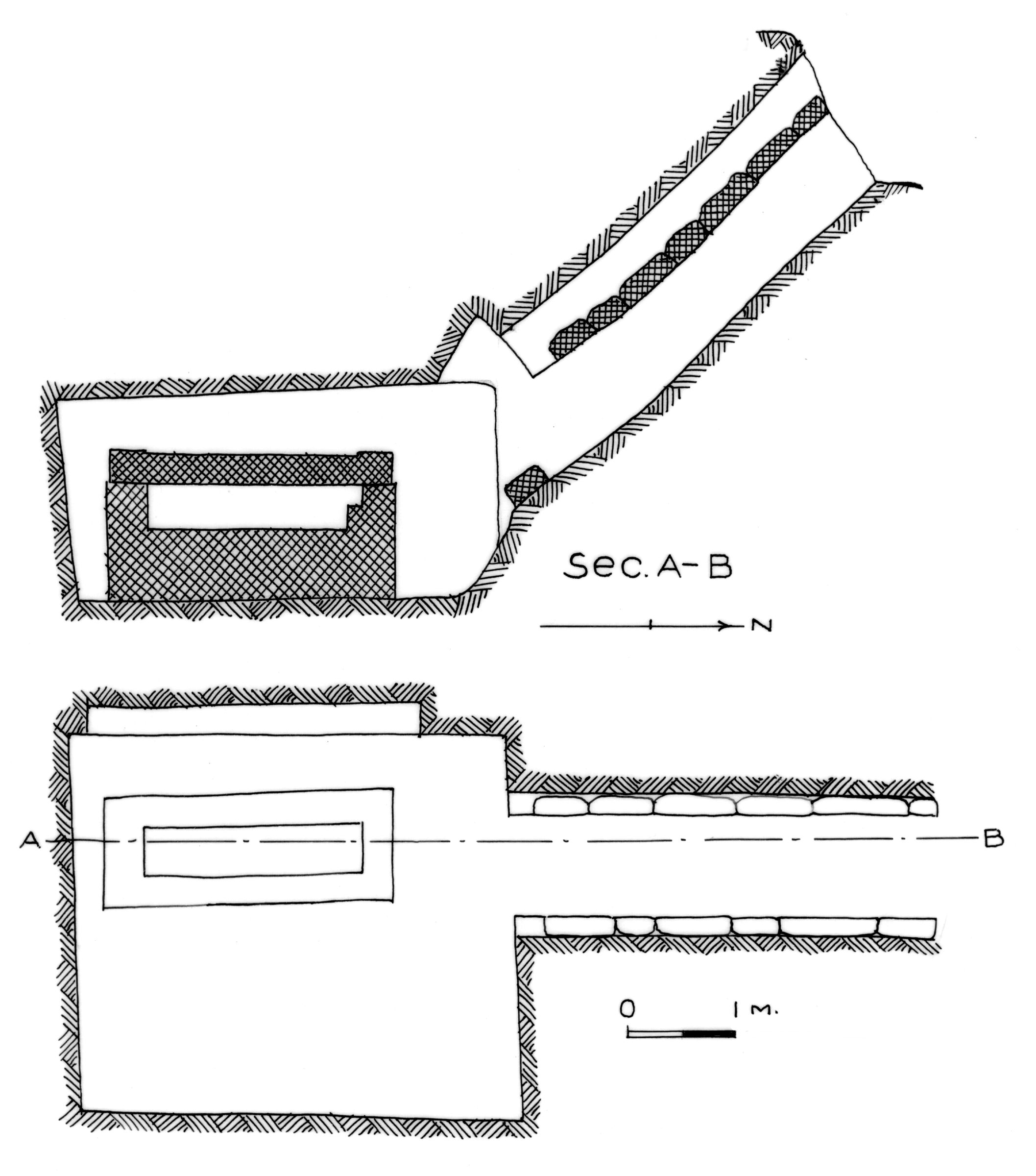 Maps and plans: G 7311, Shaft A