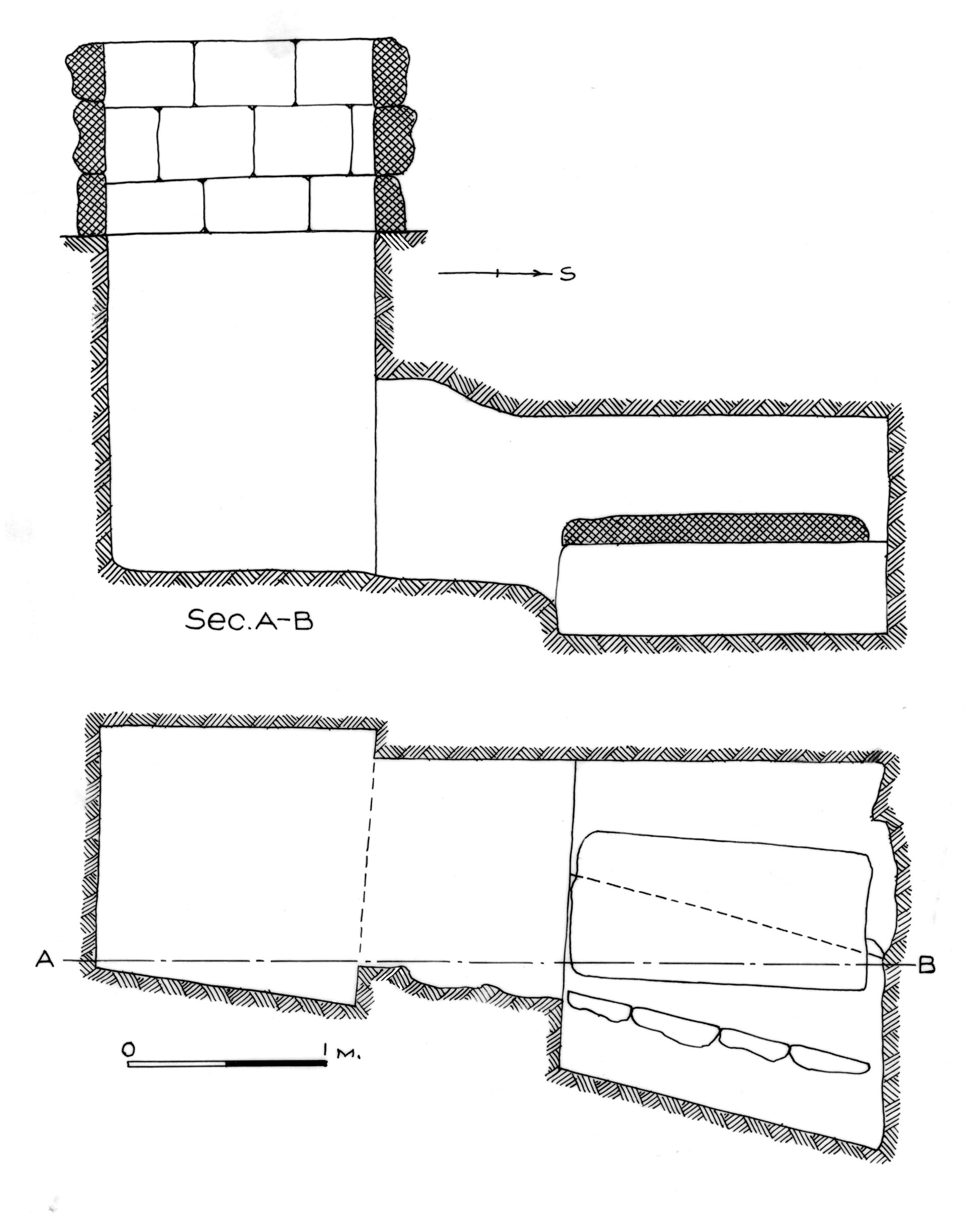 Maps and plans: G 7440, Shaft Y (= G 7441)
