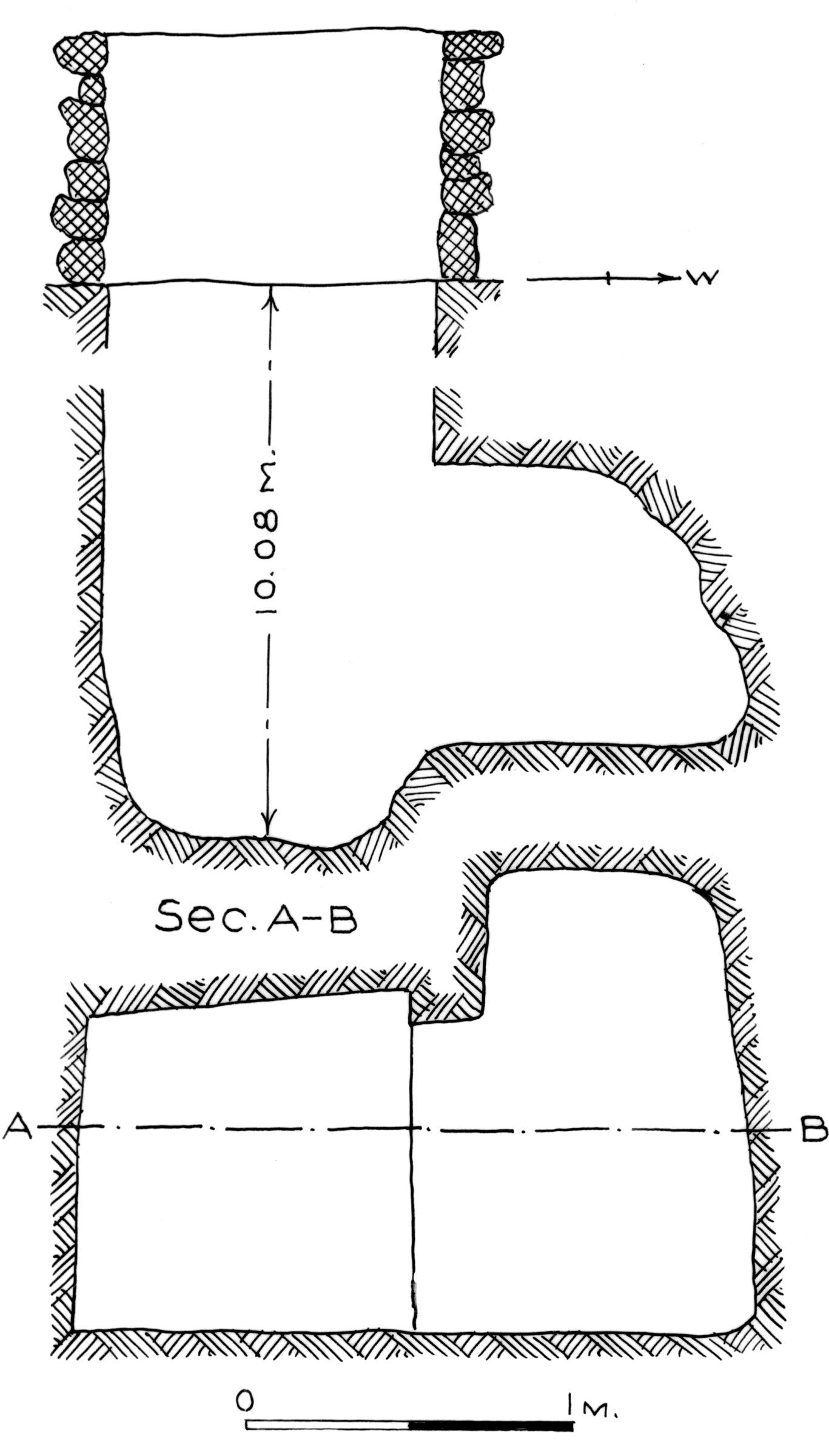 Maps and plans: G 7781, Shaft C
