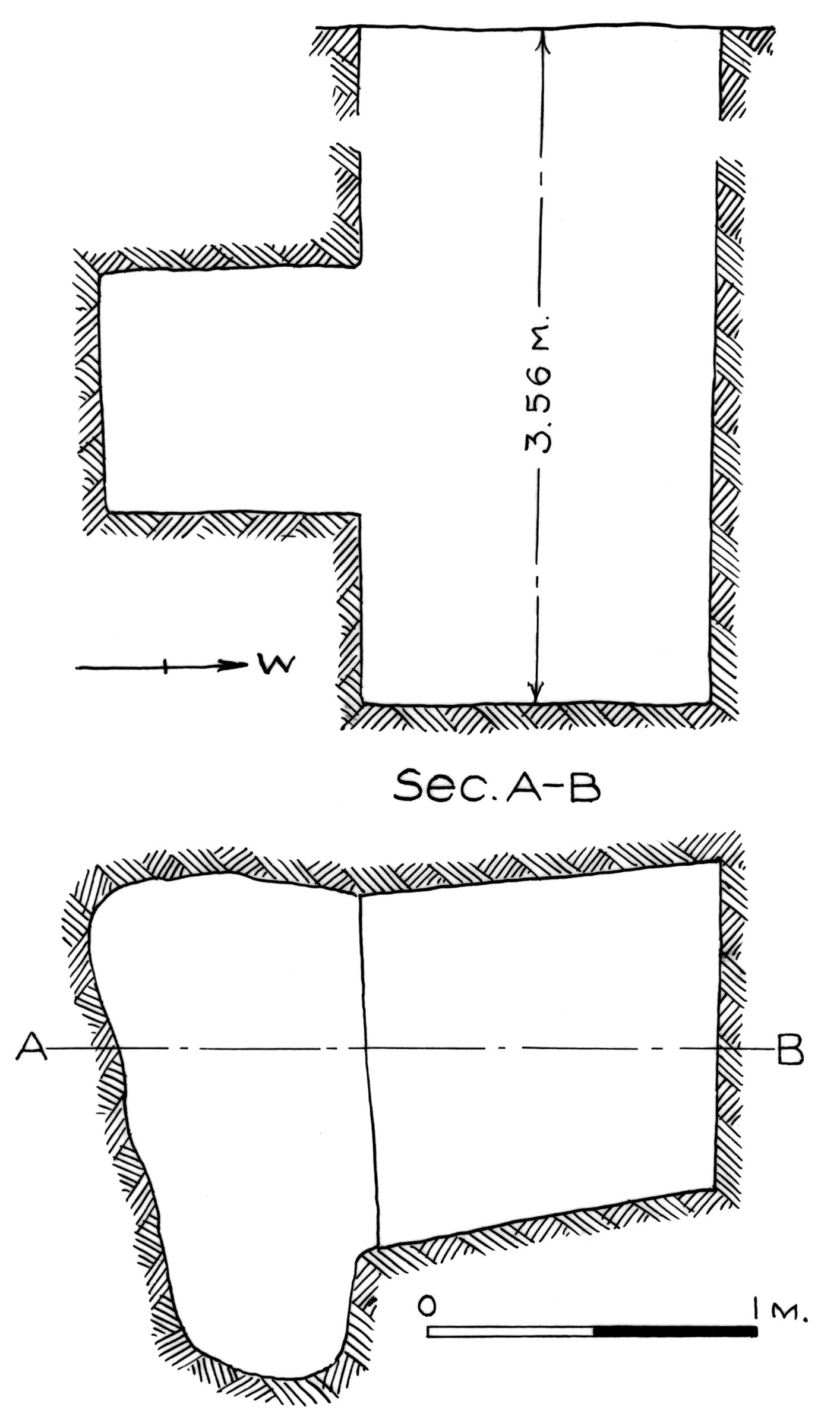 Maps and plans: G 7781, Shaft G