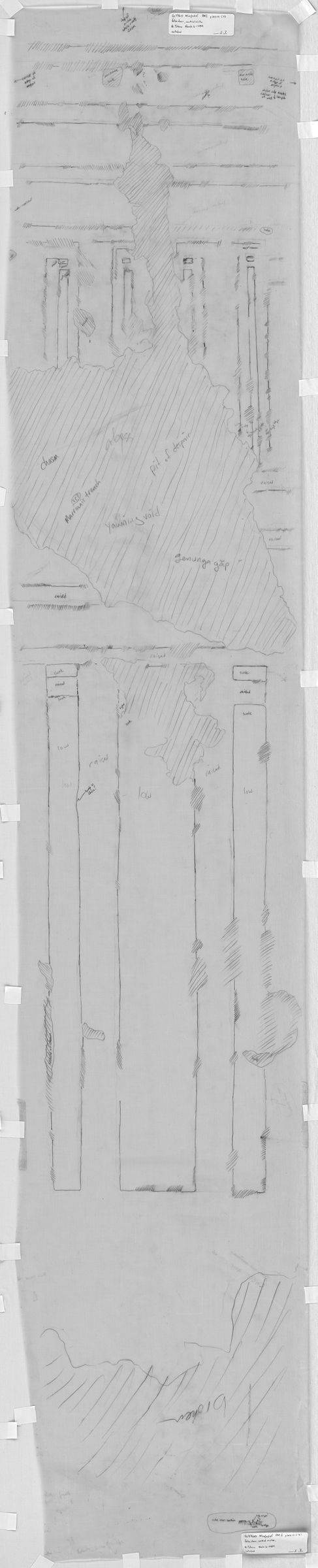 Drawings: G 7760: relief from false door, central niche