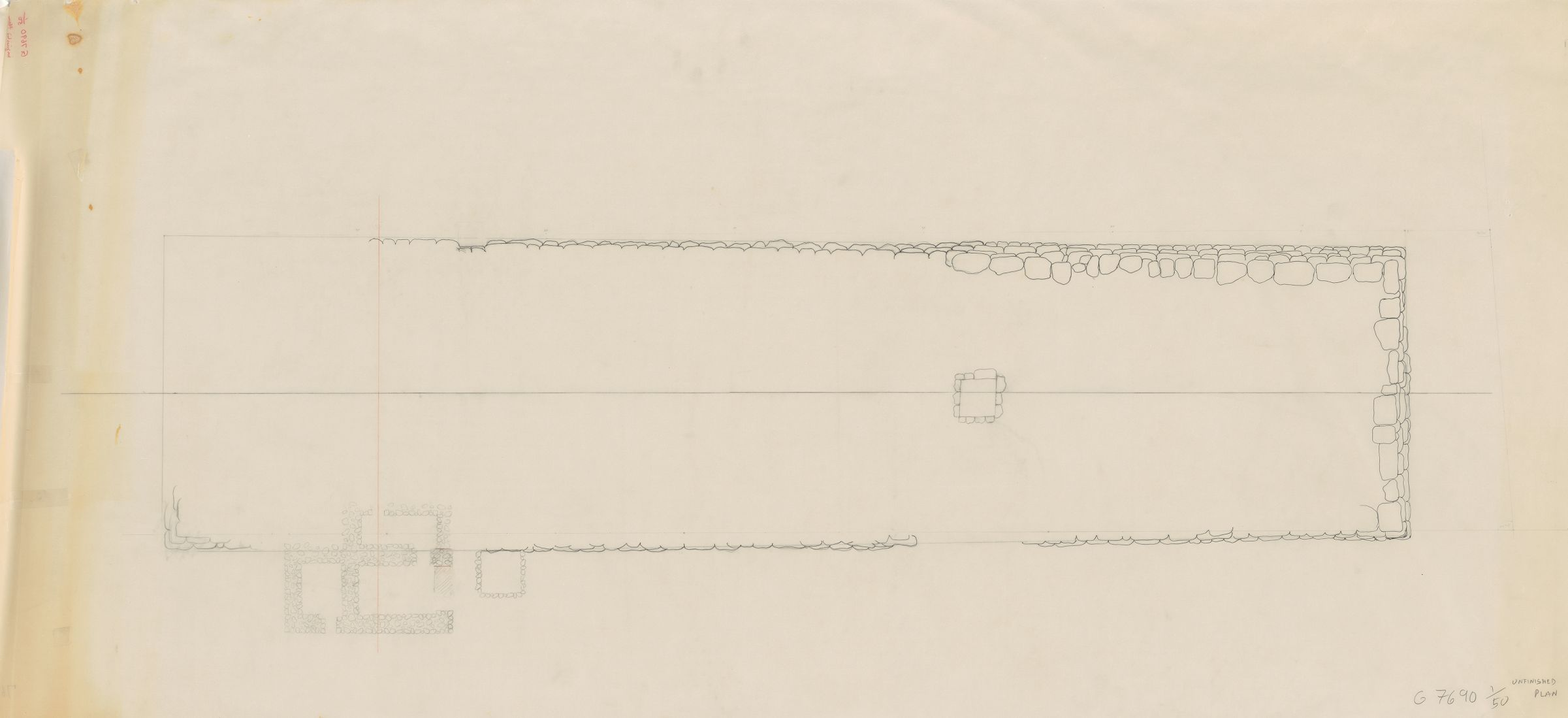 Maps and plans: G 7690, Plan