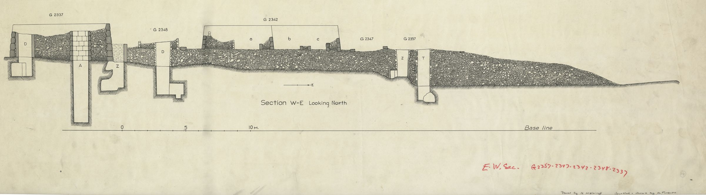 Maps and plans: Section of G 2337, G 5510, G 5520, G 5561, G 5562