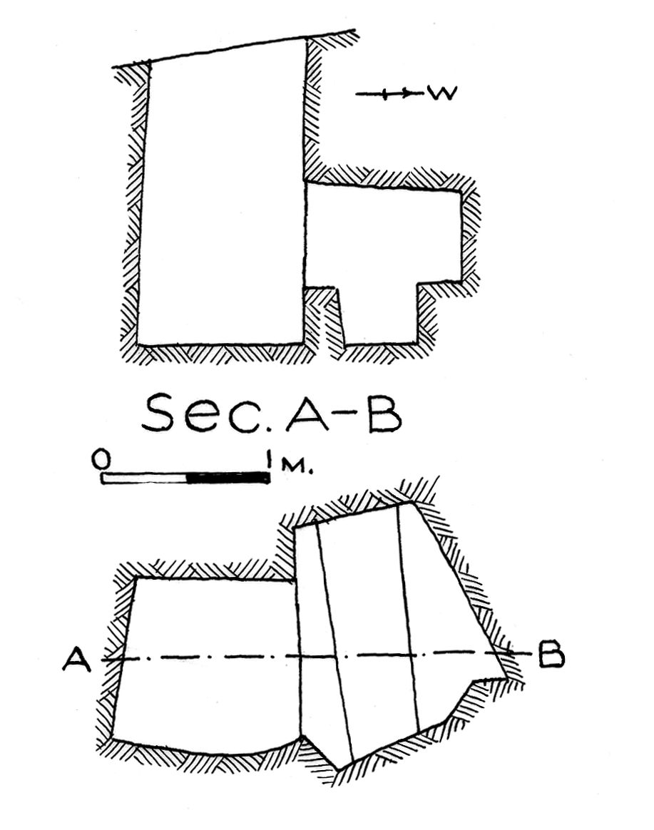 Maps and plans: G 7851, Shaft E
