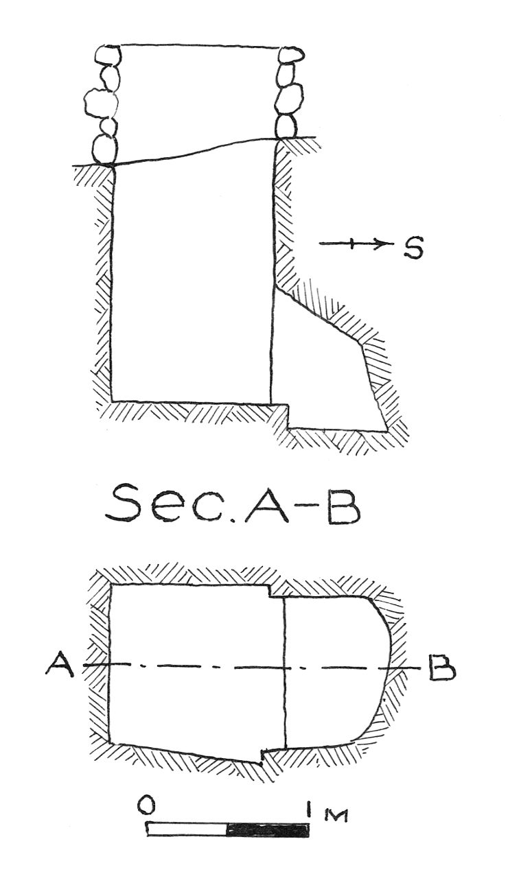Maps and plans: G 7830, Shaft A