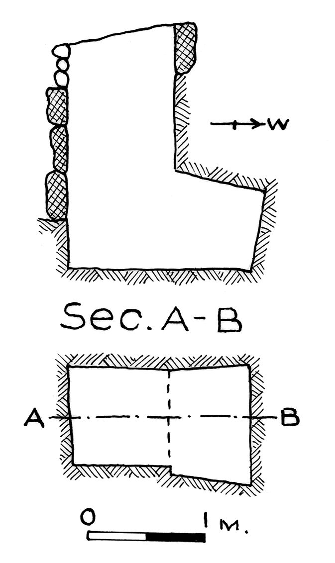 Maps and plans: G 7833, Shaft A