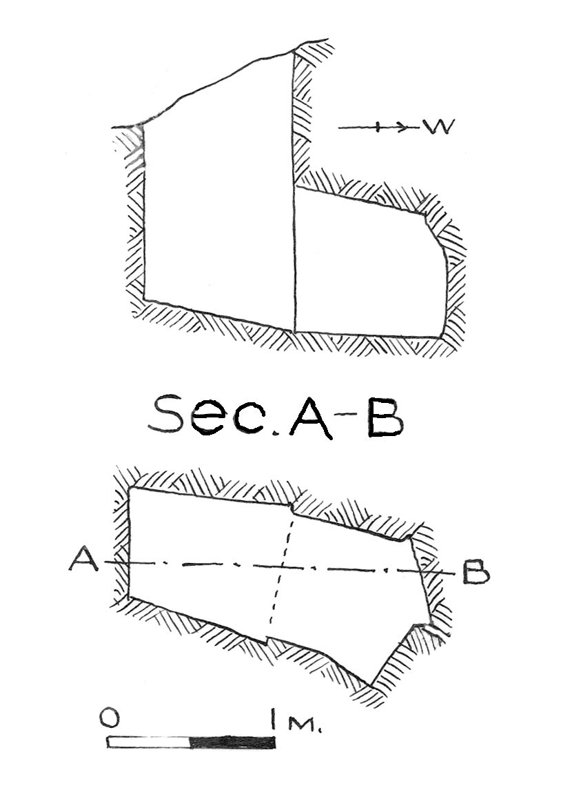 Maps and plans: G 7840, Shaft A