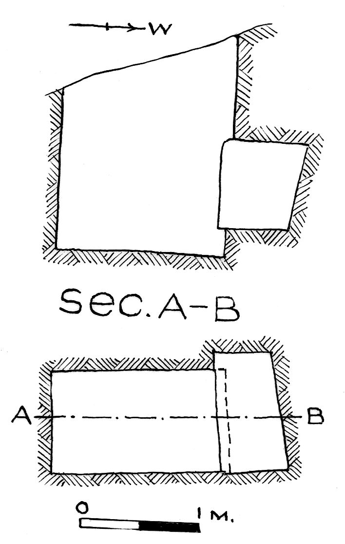 Maps and plans: G 7845, Shaft Y