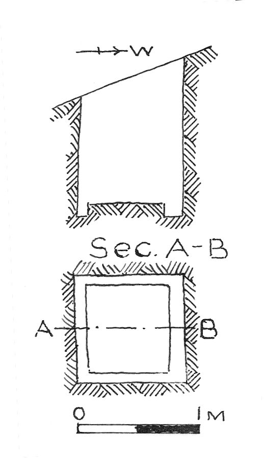 Maps and plans: G 7847, Shaft A