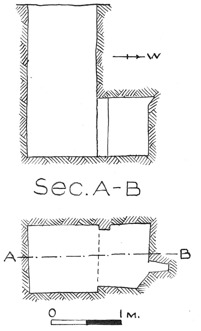 Maps and plans: G 7852, Shaft A