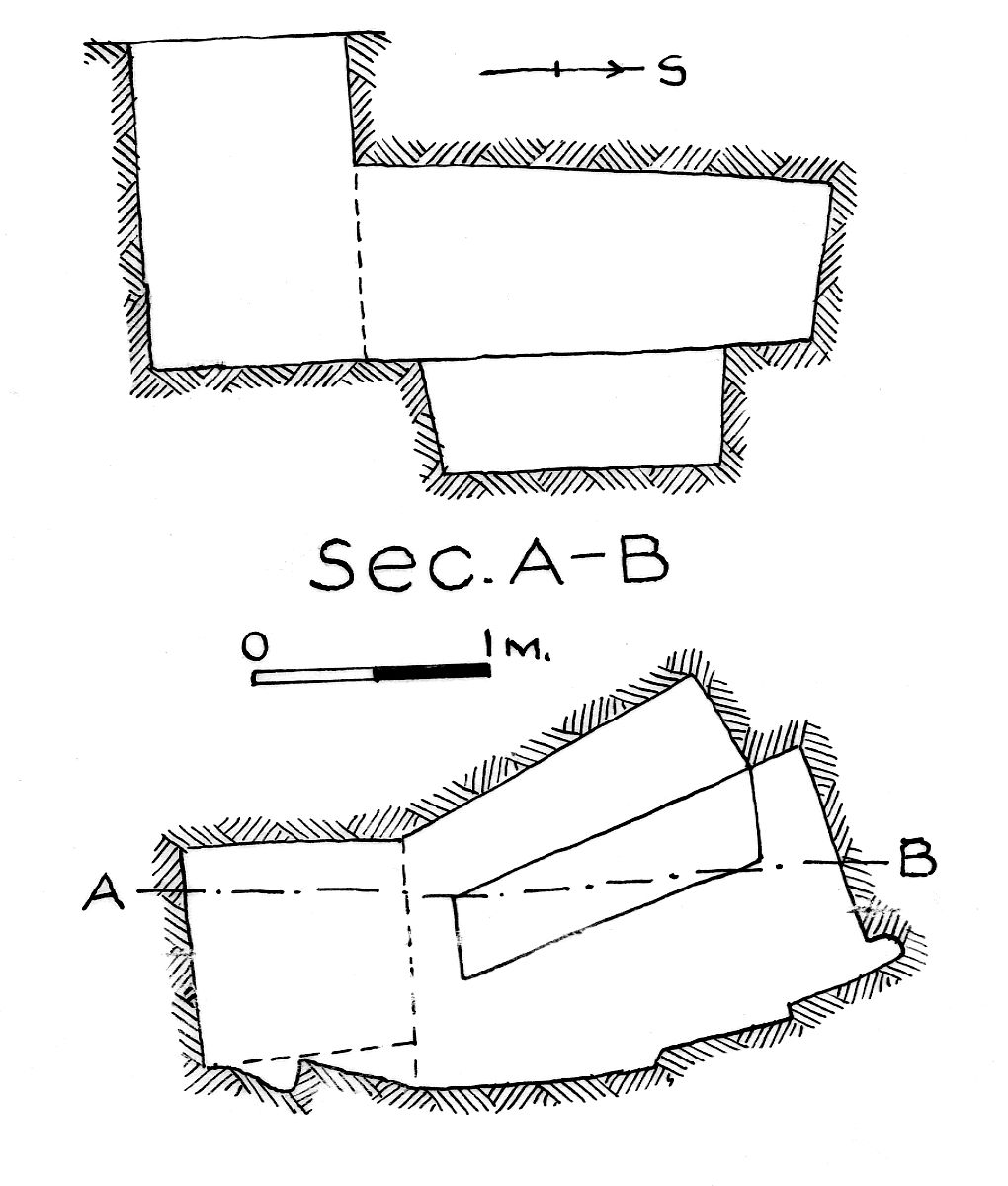 Maps and plans: G 7853, Shaft A