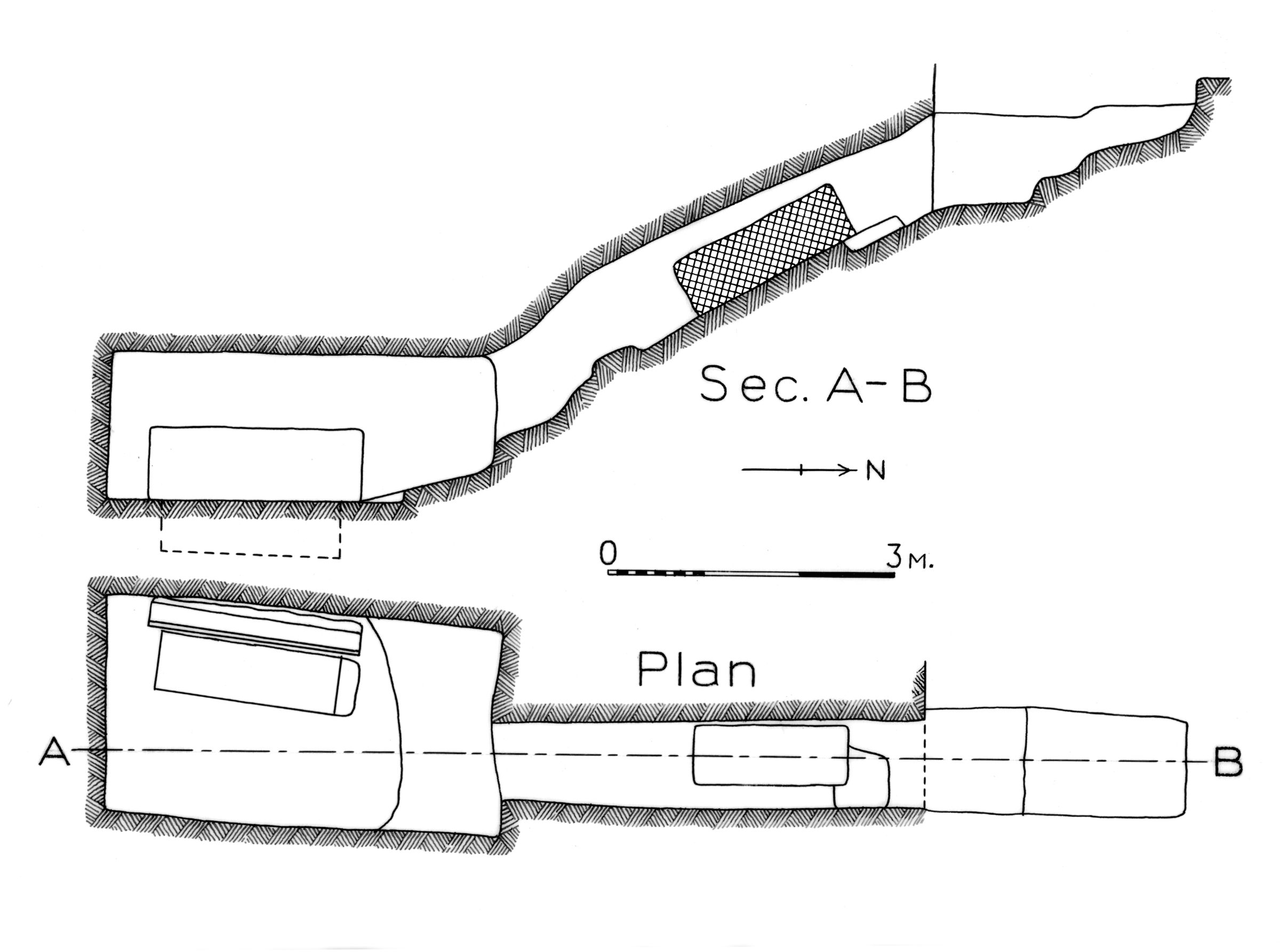 Maps and plans: G 5040, Shaft D