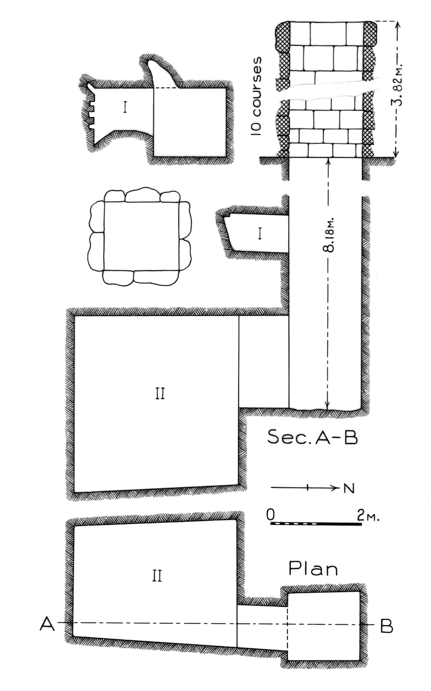 Maps and plans: G 5210, Shaft A