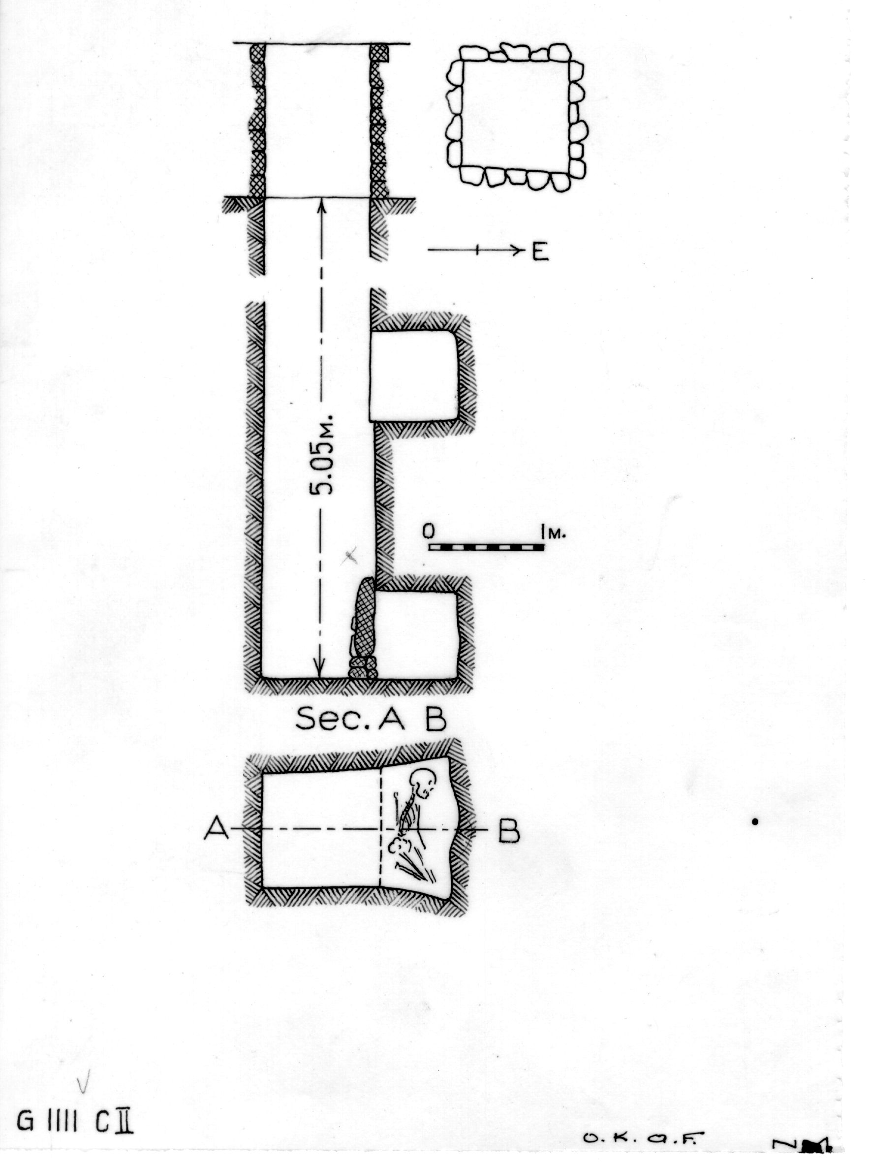 Maps and plans: G 1111, Shaft C (II)