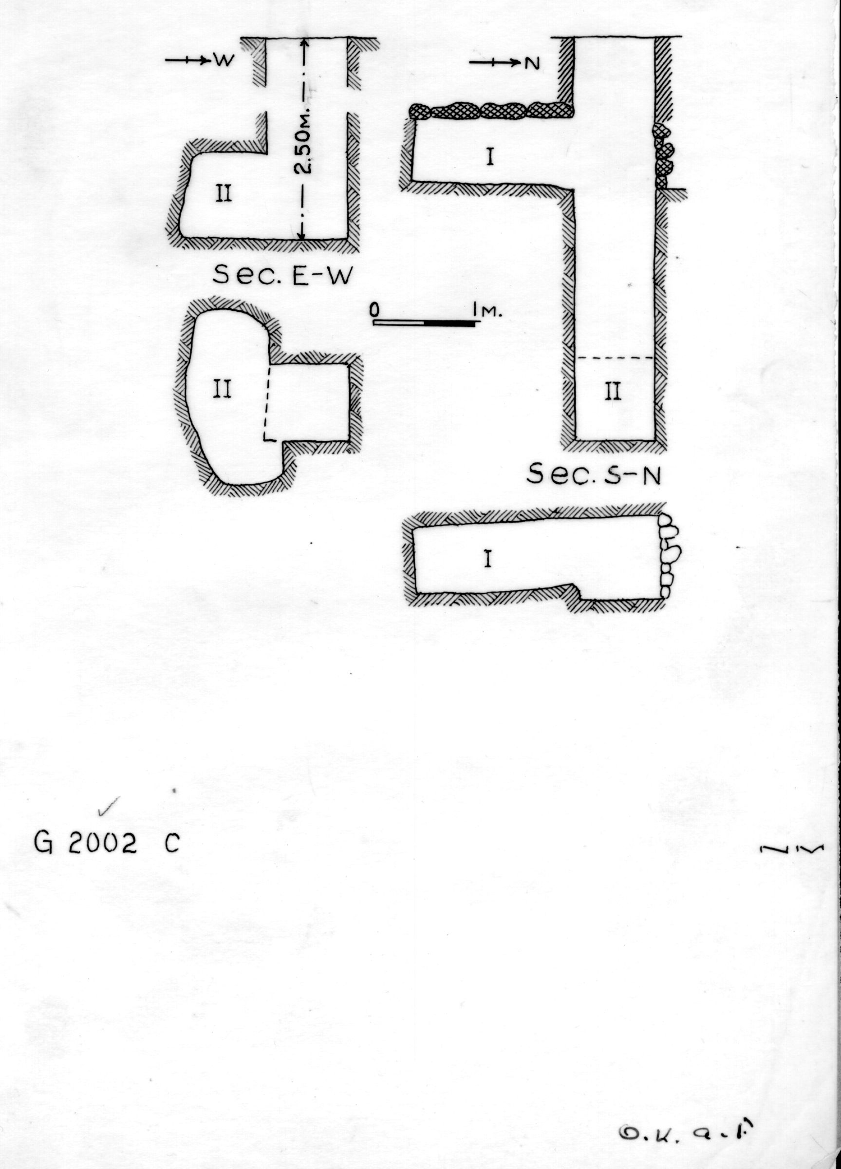 Maps and plans: G 2002, Shaft C