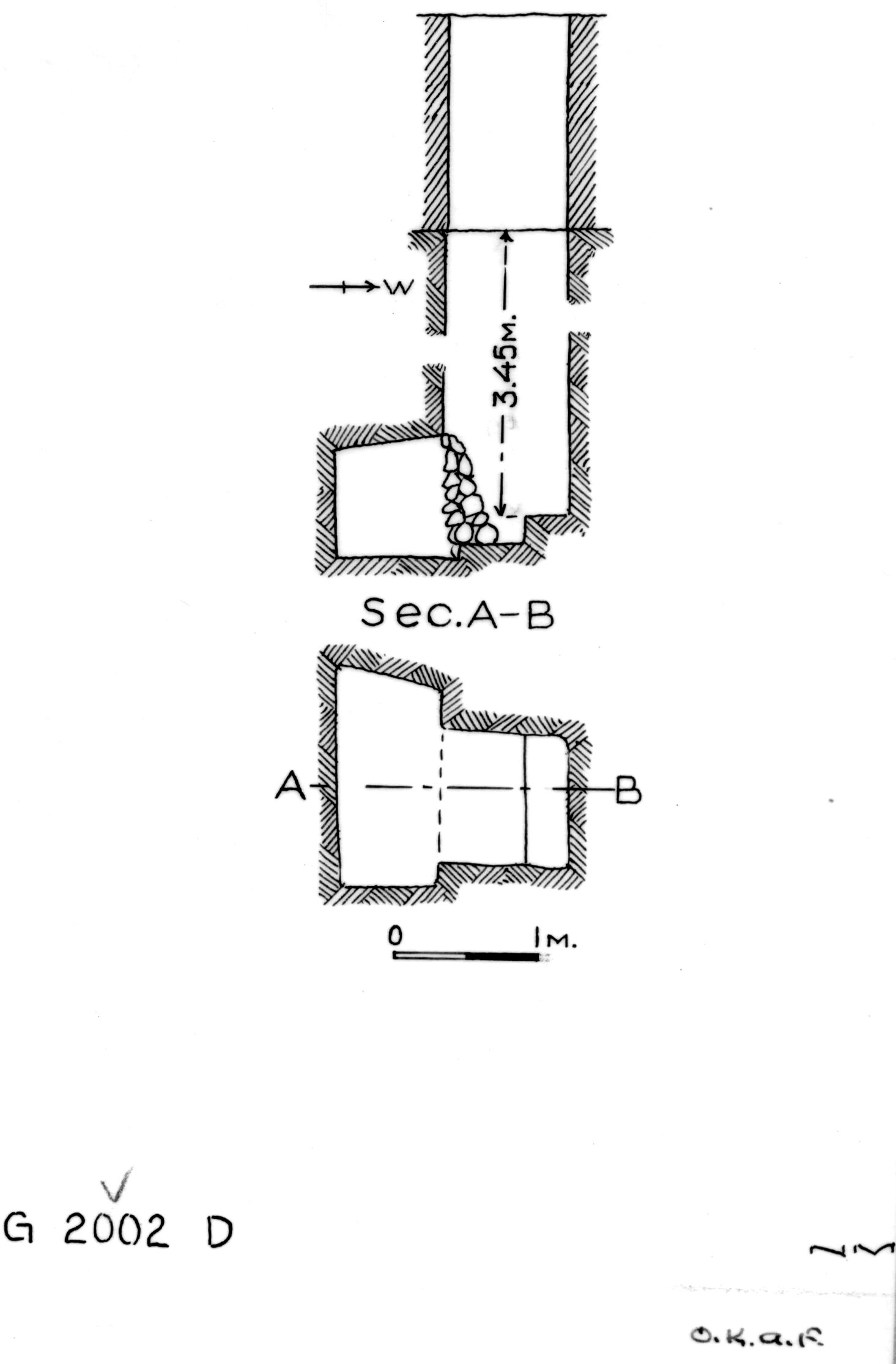 Maps and plans: G 2002, Shaft D