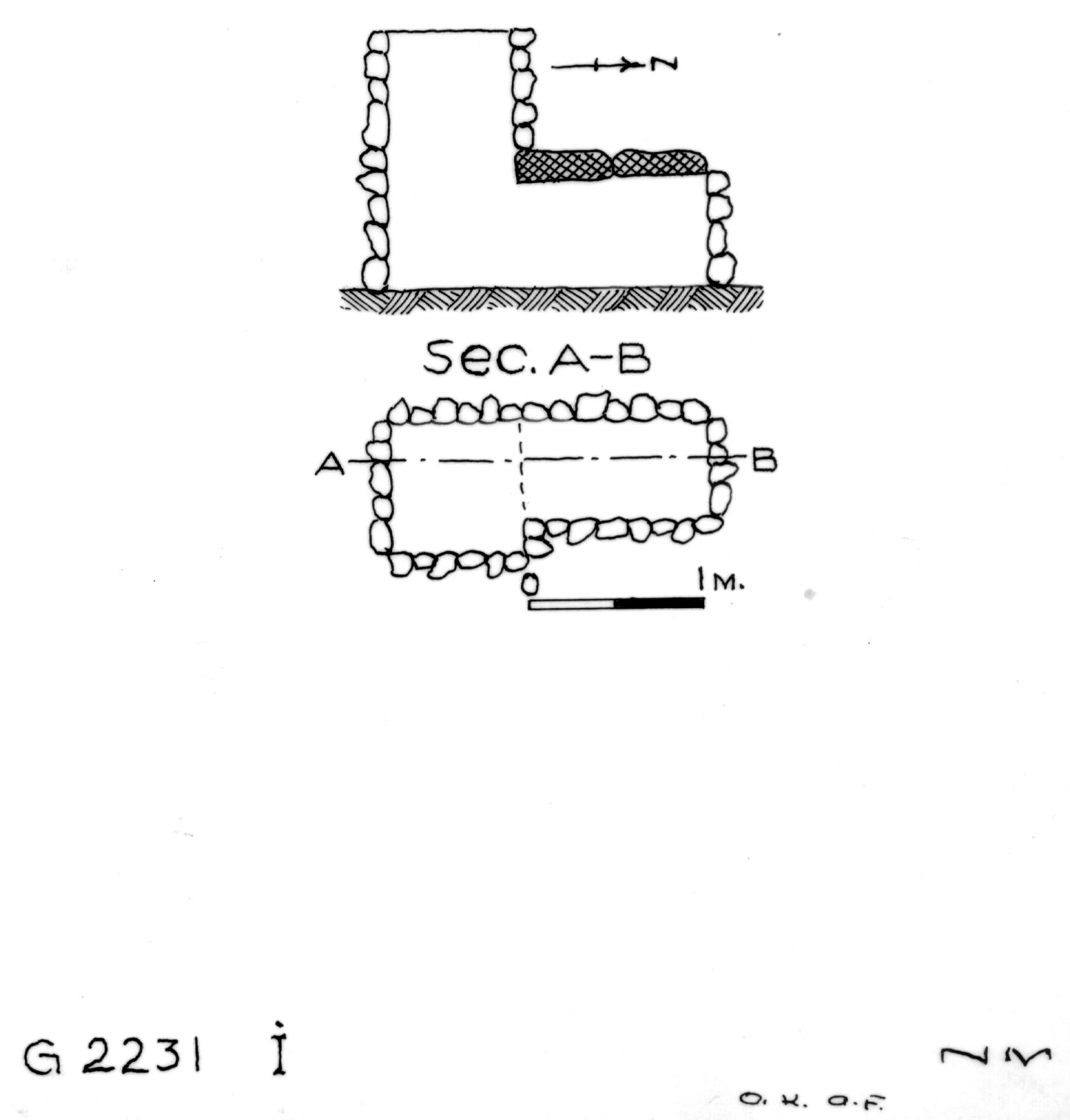 Maps and plans: G 2230+2231: G 2231, Shaft I