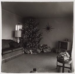 Xmas Tree In A Livingroom, Levittown, N.y. 1962.