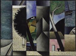 Landscape (Composition Cubiste)