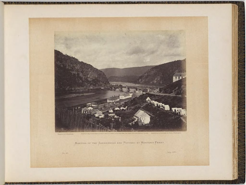 Meeting Of The Shenandoah And Potomac At Harper's Ferry