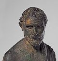 Portrait Of The Greek Orator Demosthenes