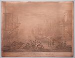 Printing Plate: The Old Port of Messina