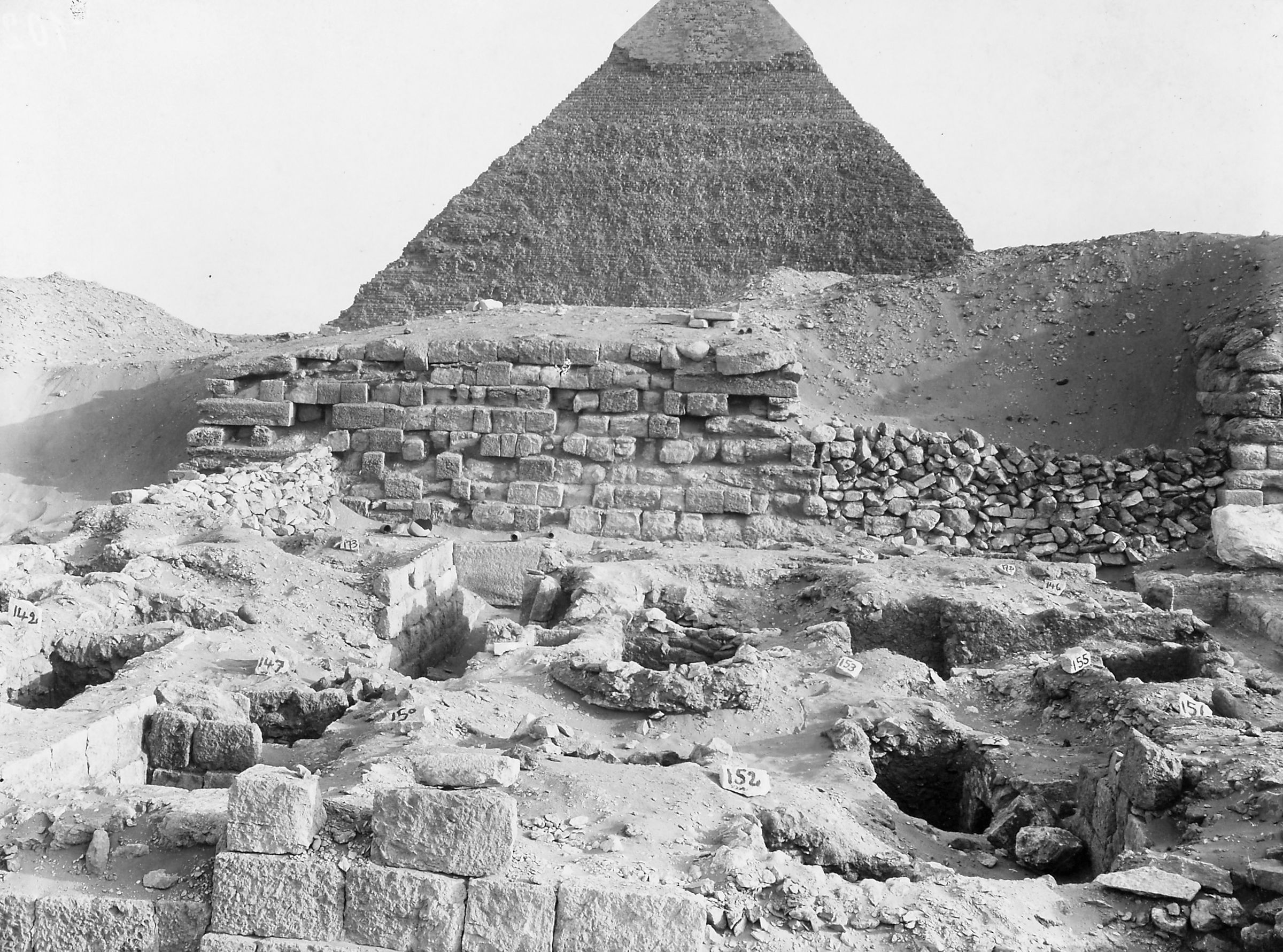 Western Cemetery: Site: Giza; View: D 111, D 112, G 4260