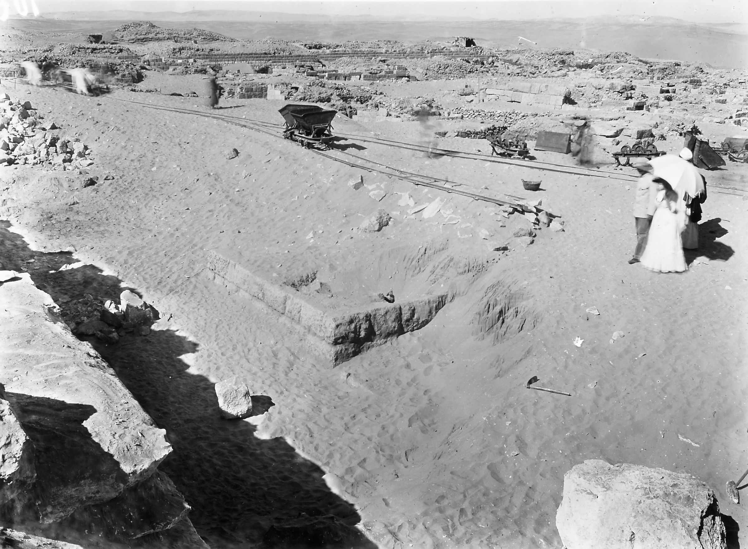 Western Cemetery: Site: Giza; View: D 106