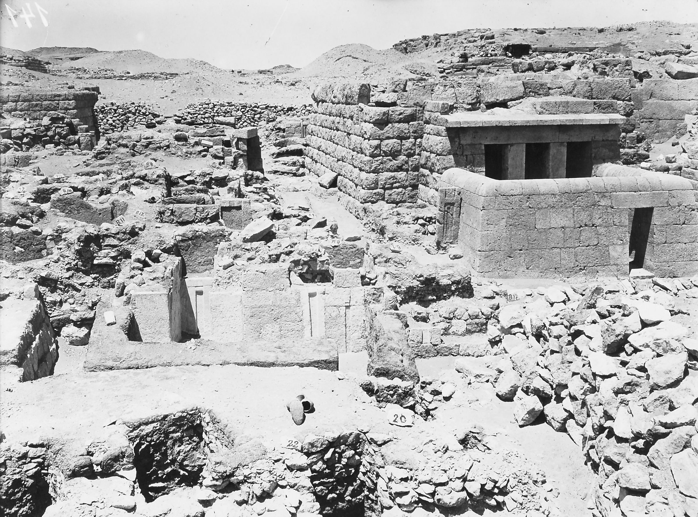 Western Cemetery: Site: Giza; View: Hesy, G 2100-II, S 20/24