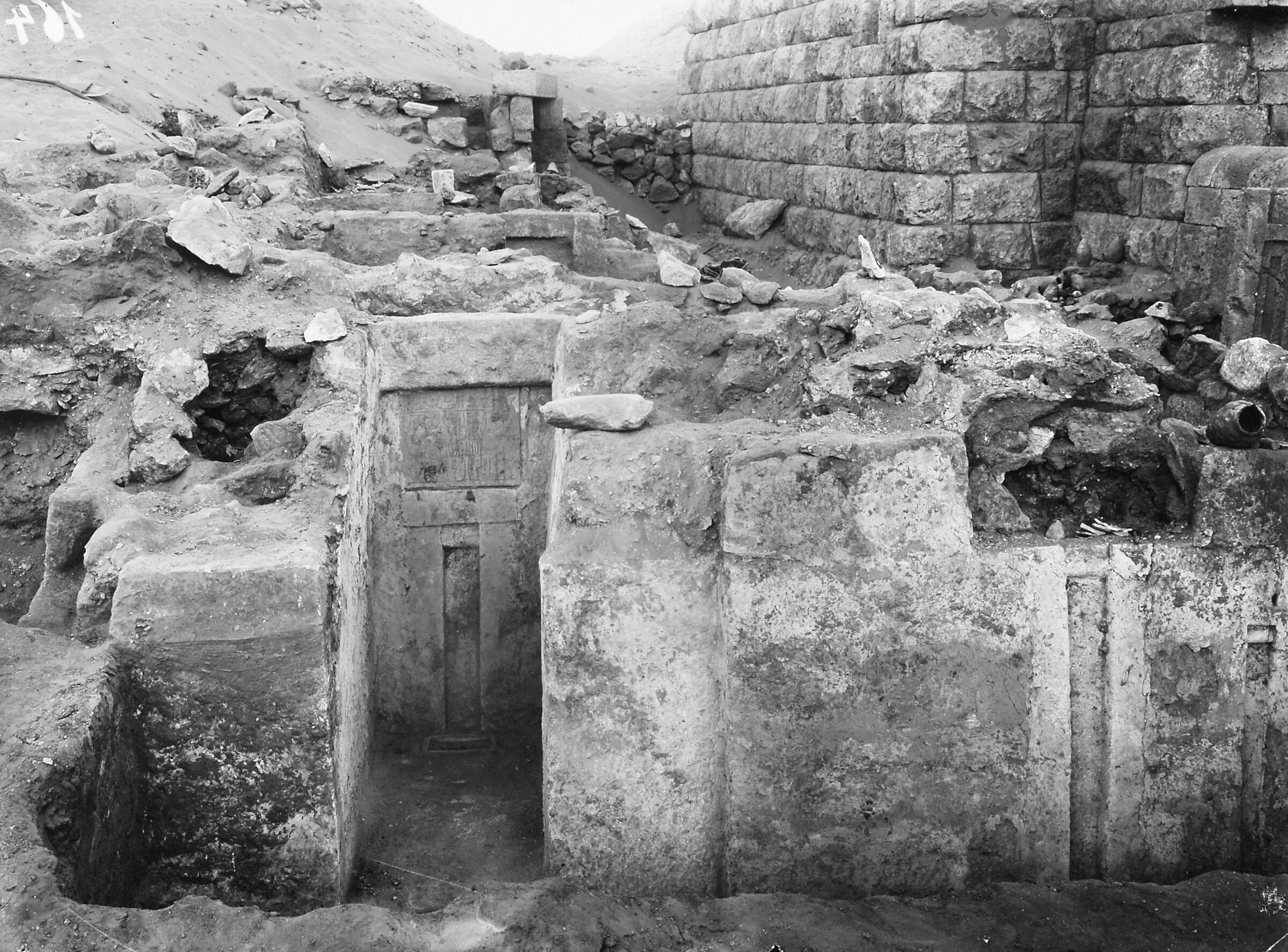 Western Cemetery: Site: Giza; View: Hesy