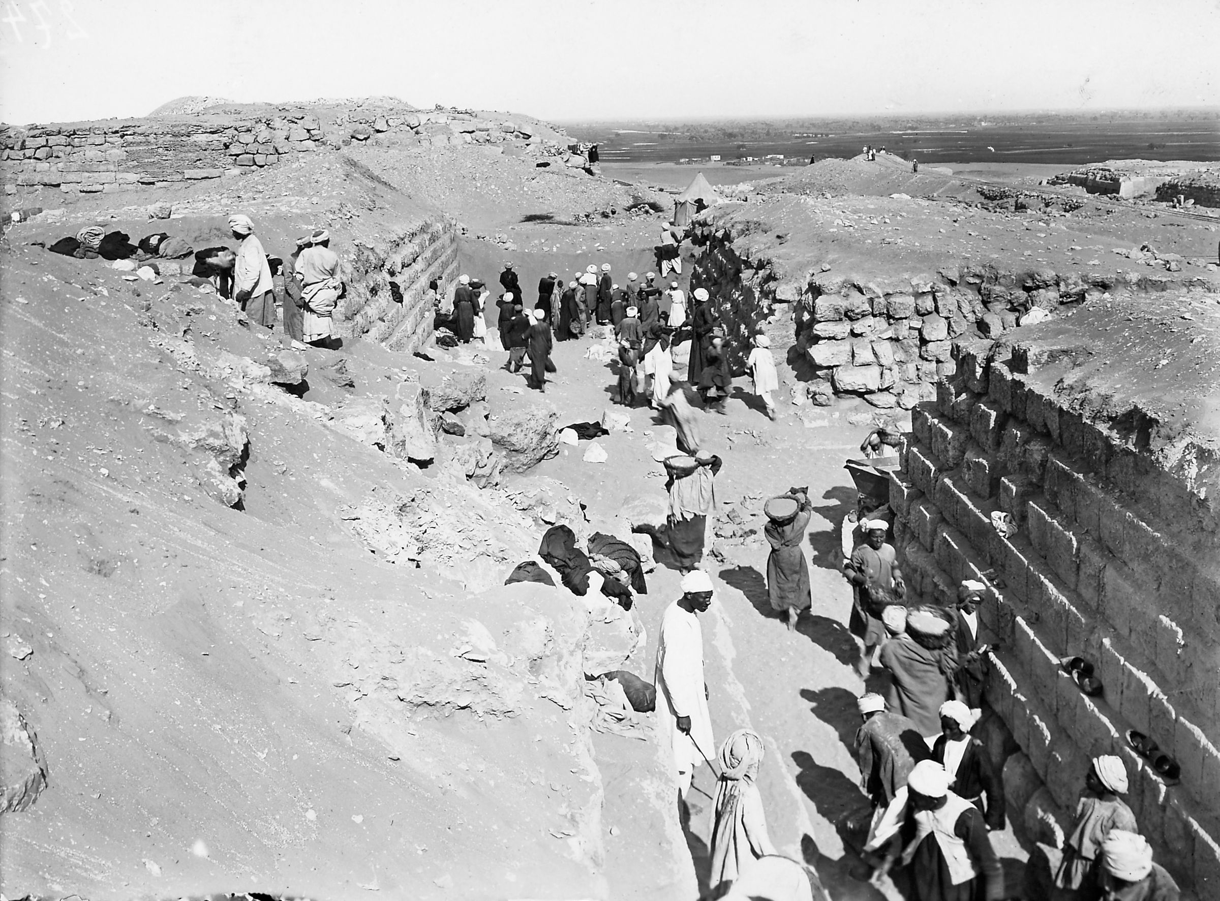 Western Cemetery: Site: Giza; View: G 4150, G 4160, G 4250, G 4260