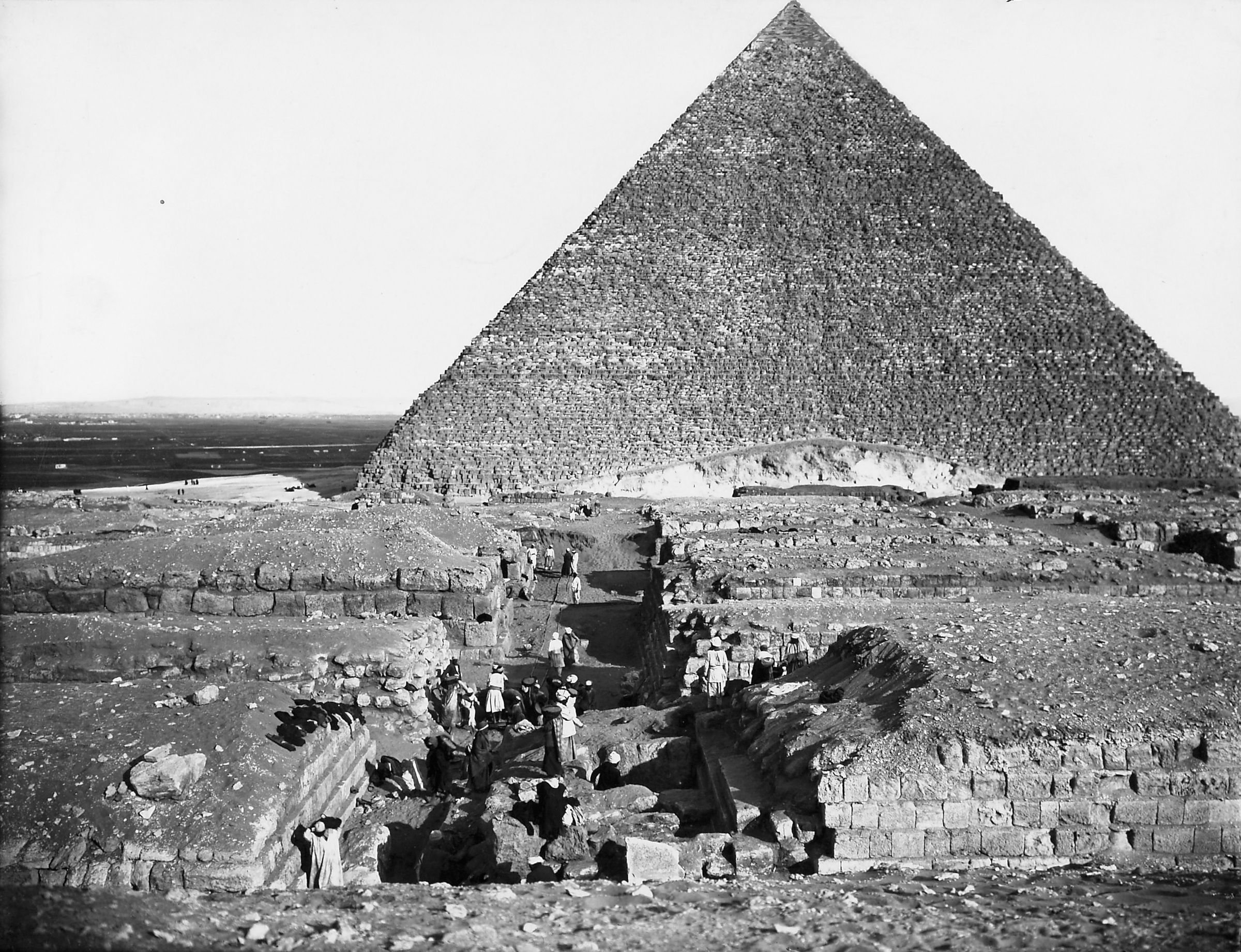 Western Cemetery: Site: Giza; View: Cemetery G 4000