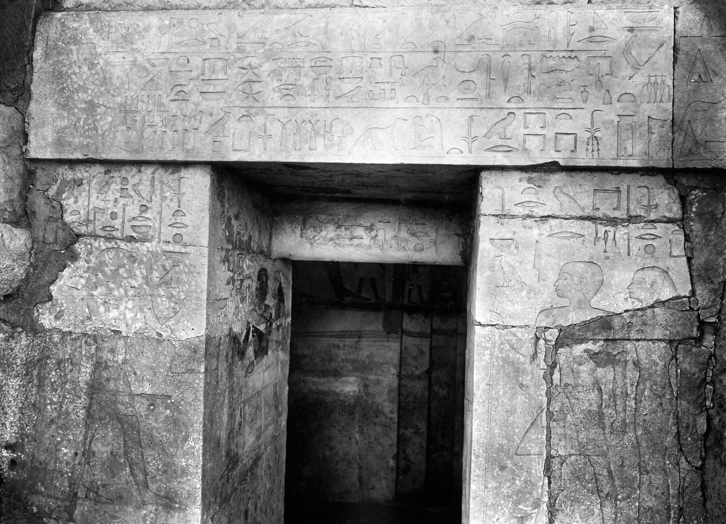 Western Cemetery: Site: Giza; View: G 4651