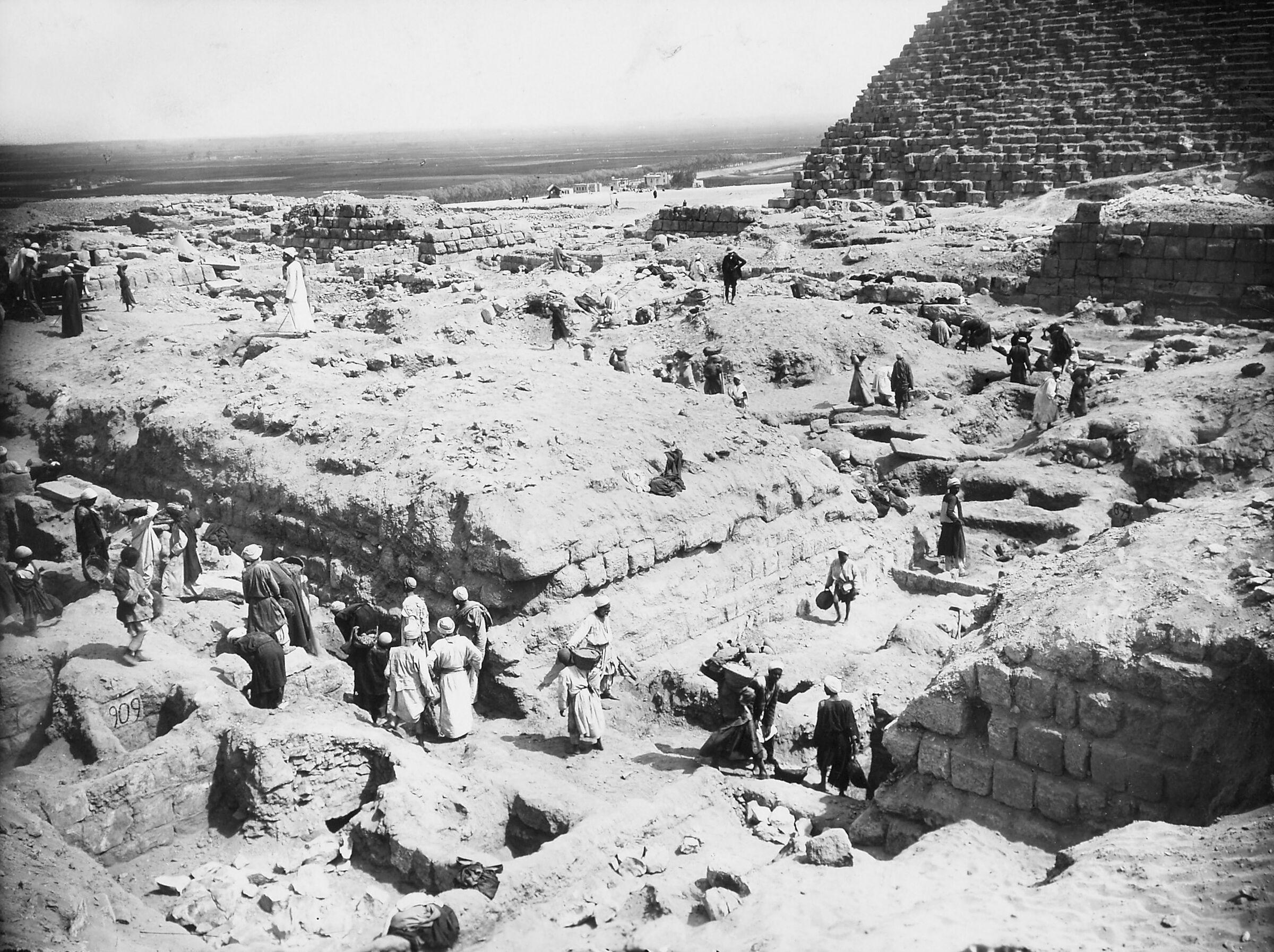 Western Cemetery: Site: Giza; View: Hetepi (1), G 5040, G 5050