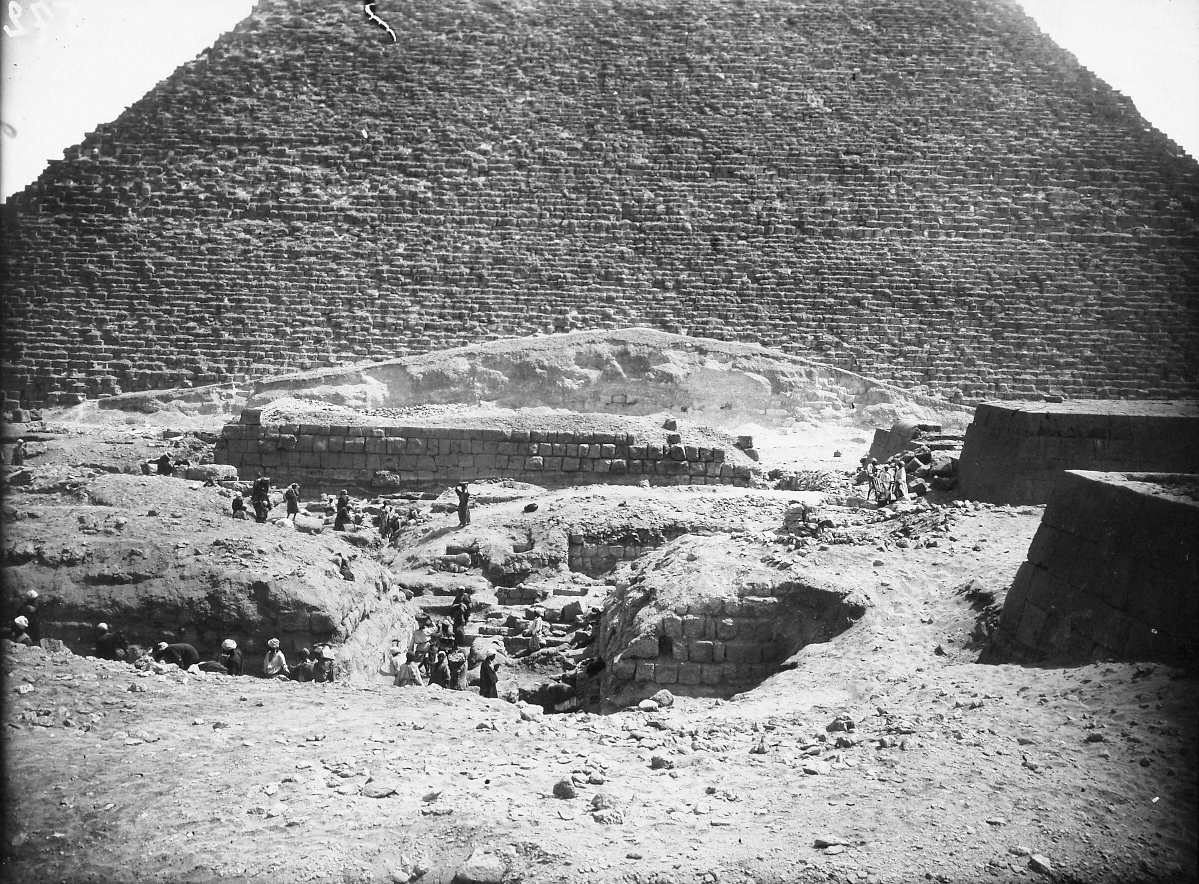Western Cemetery: Site: Giza; View: S 894a/894e, G 5050, G 5040