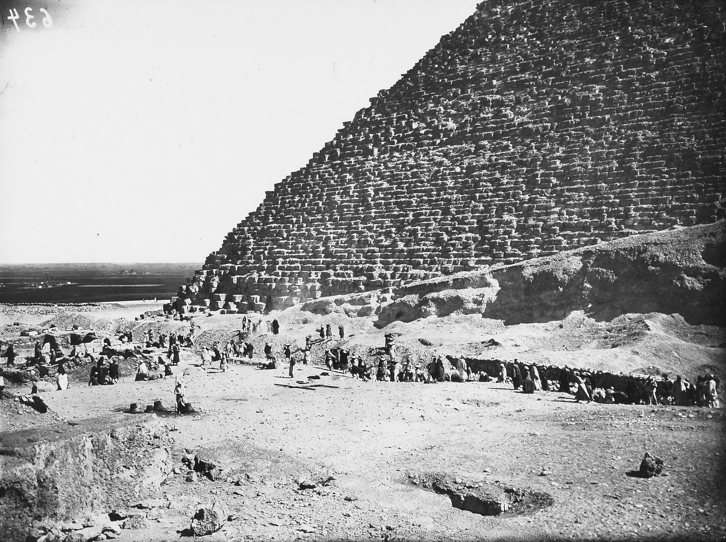 Khufu Pyramid Complex: Site: Giza