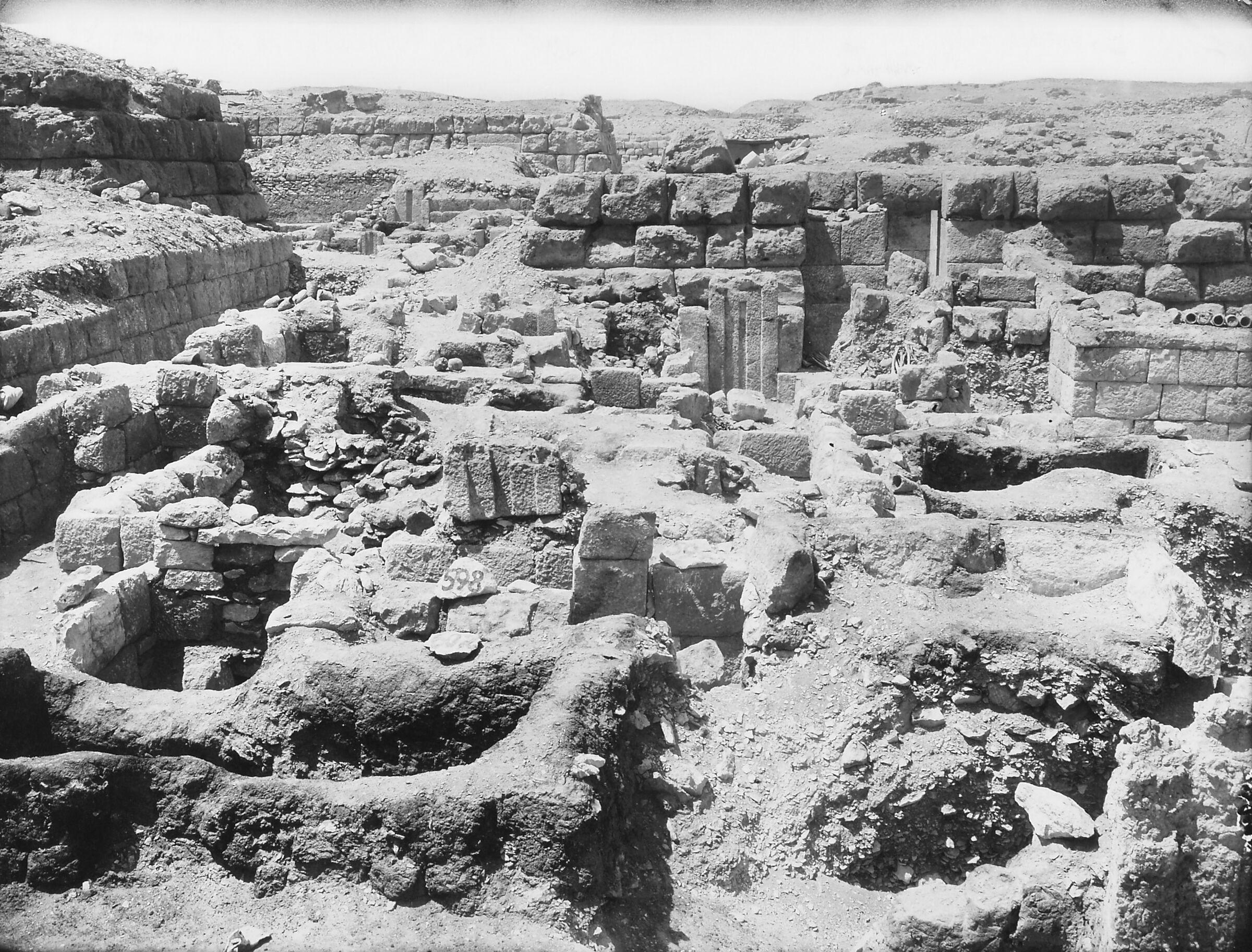 Western Cemetery: Site: Giza; View: Menhebu, G 5480 = G 2340, S 508/658, S 502/593, S 501/589