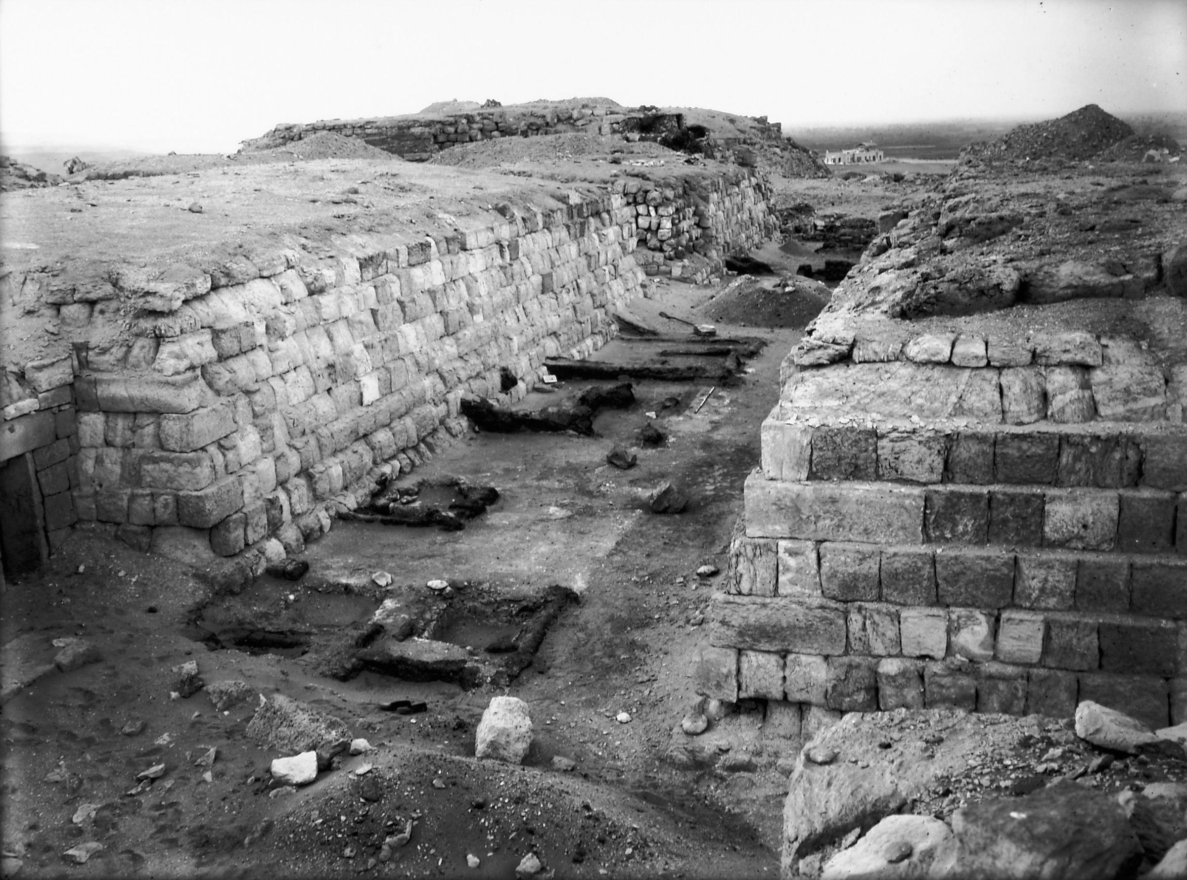 Western Cemetery: Site: Giza; VIew: G 4250, G 4350