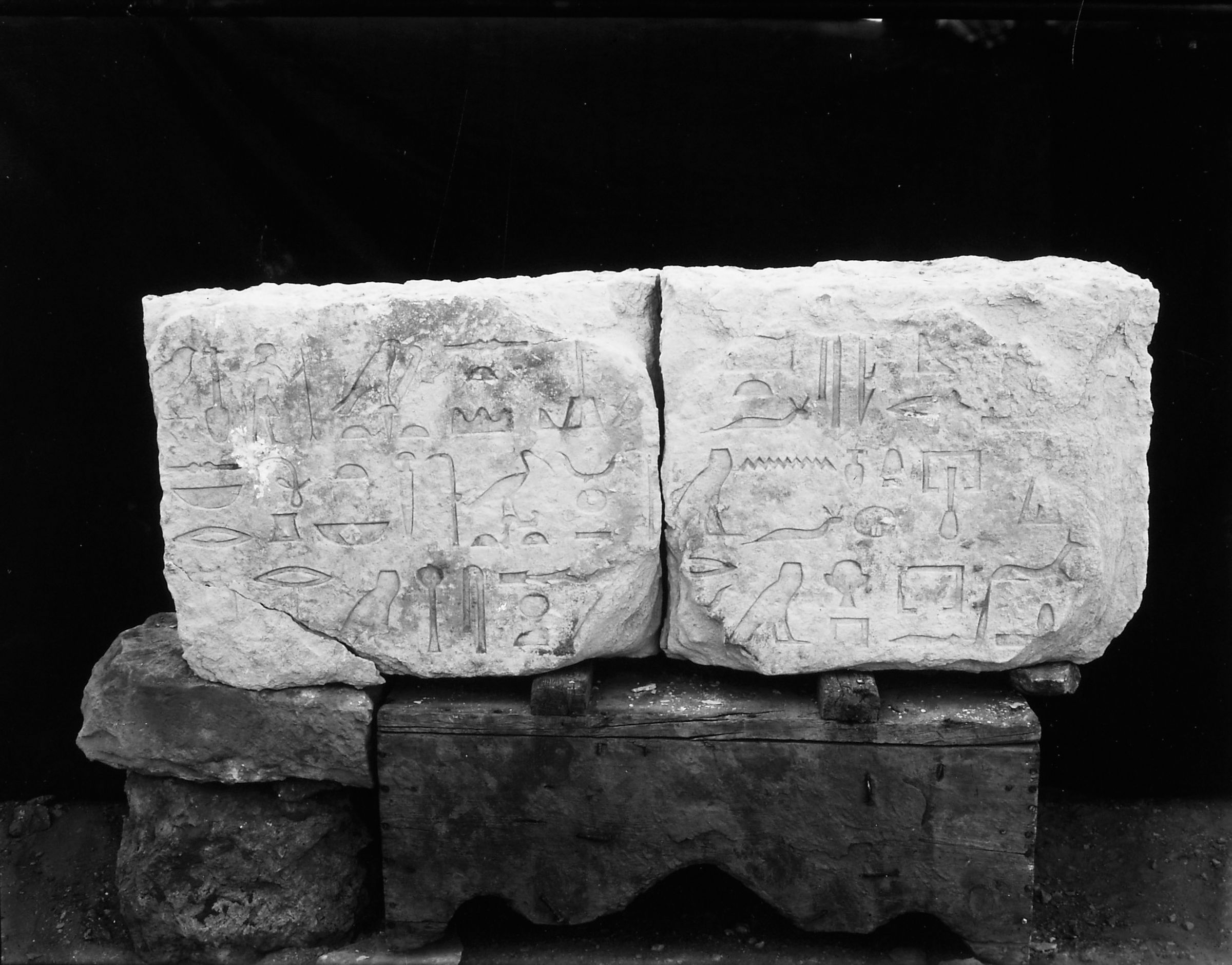 Object(s) photograph: Site: Giza; view: Lepsius 38