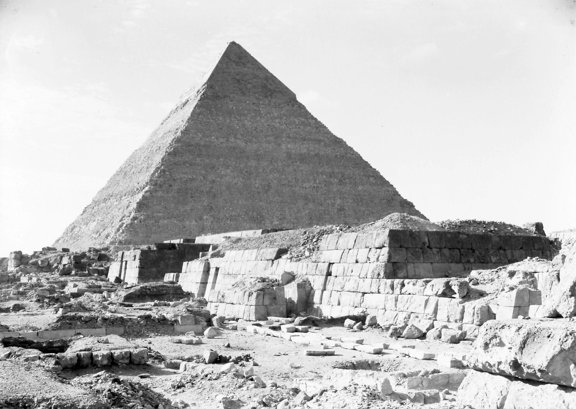 Western Cemetery: Site: Giza; View: G 5350, G 5340, G 5230, Khufudinefankh