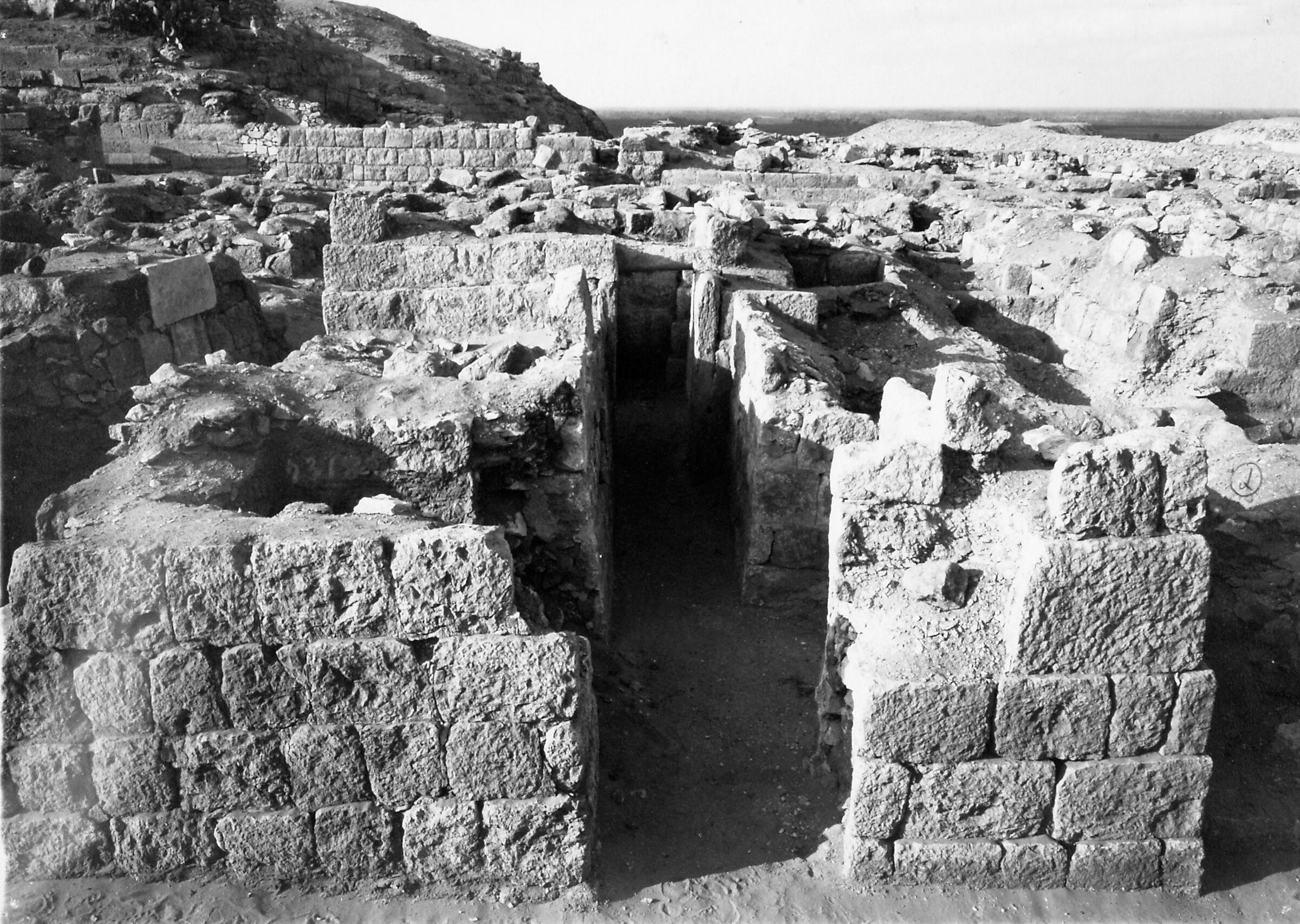 Western Cemetery: Site: Giza; View: S 2318/2321, Khenu