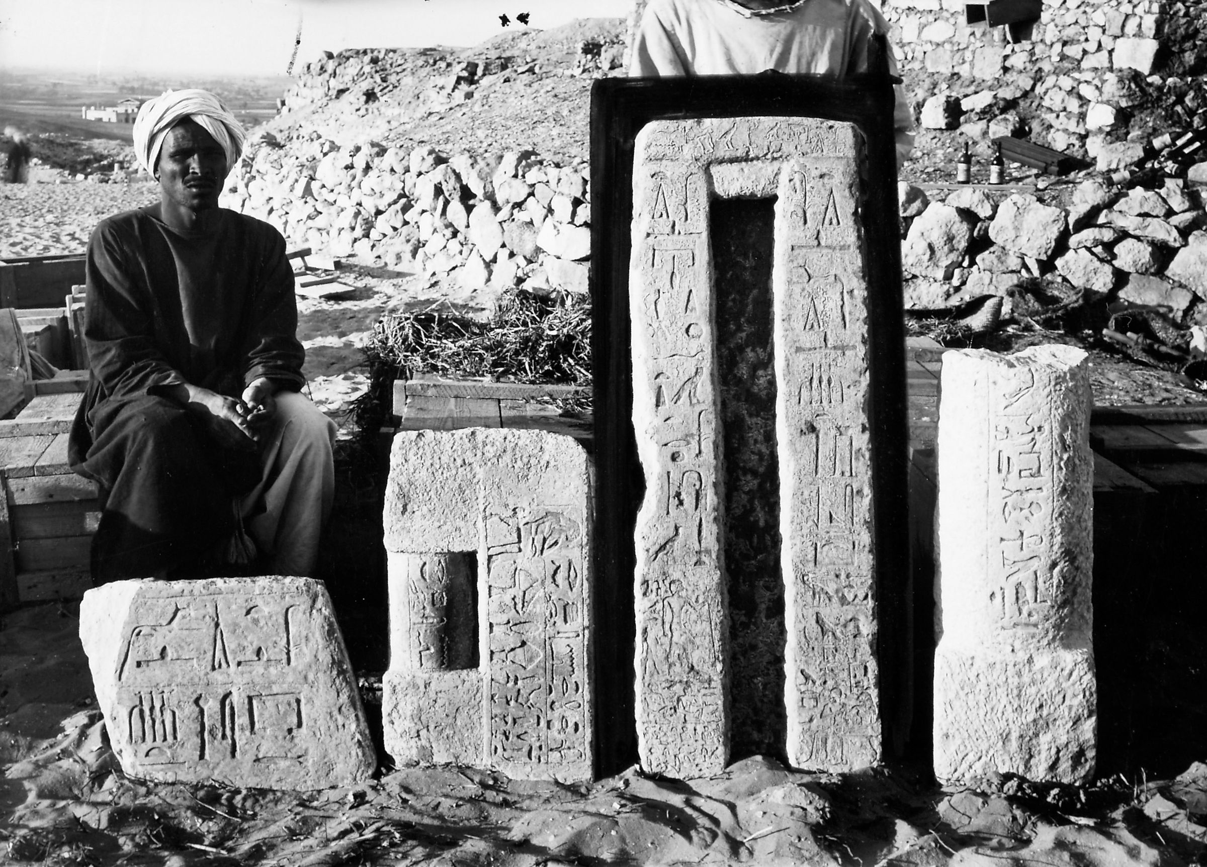 Object(s) photograph: Site: Giza; view: Neferen, G 4351