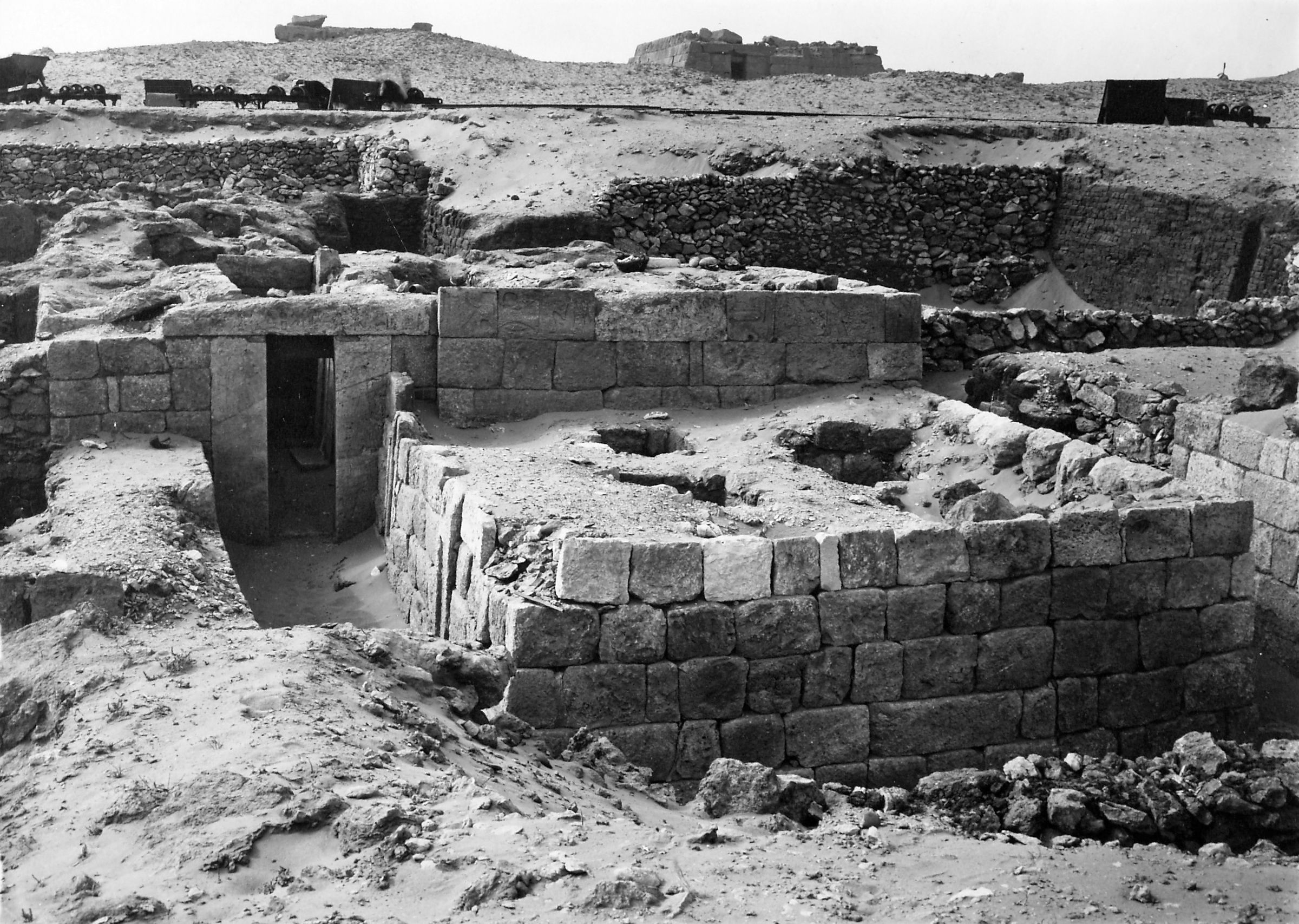 Western Cemetery: Site: Giza; View: Inpuhetep, S 2499/2521, S 2522/2524