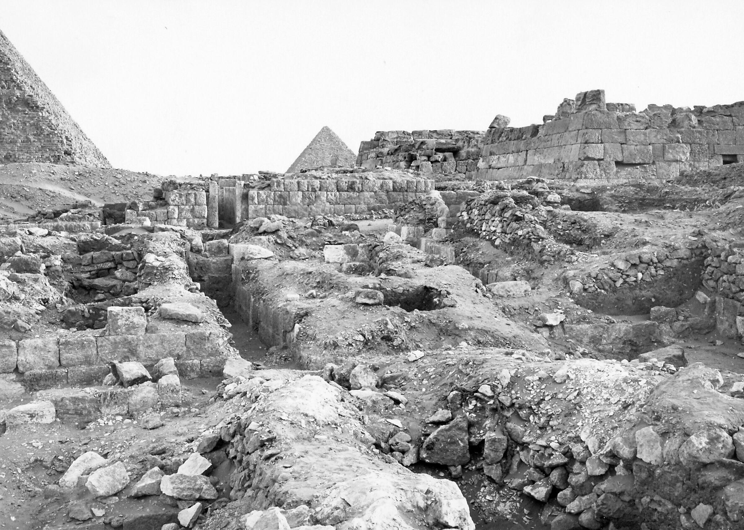 Western Cemetery: Site: Giza; View: S 2560/2562, Wemtetka, S 2563, G 6037, G 6042, G 6040