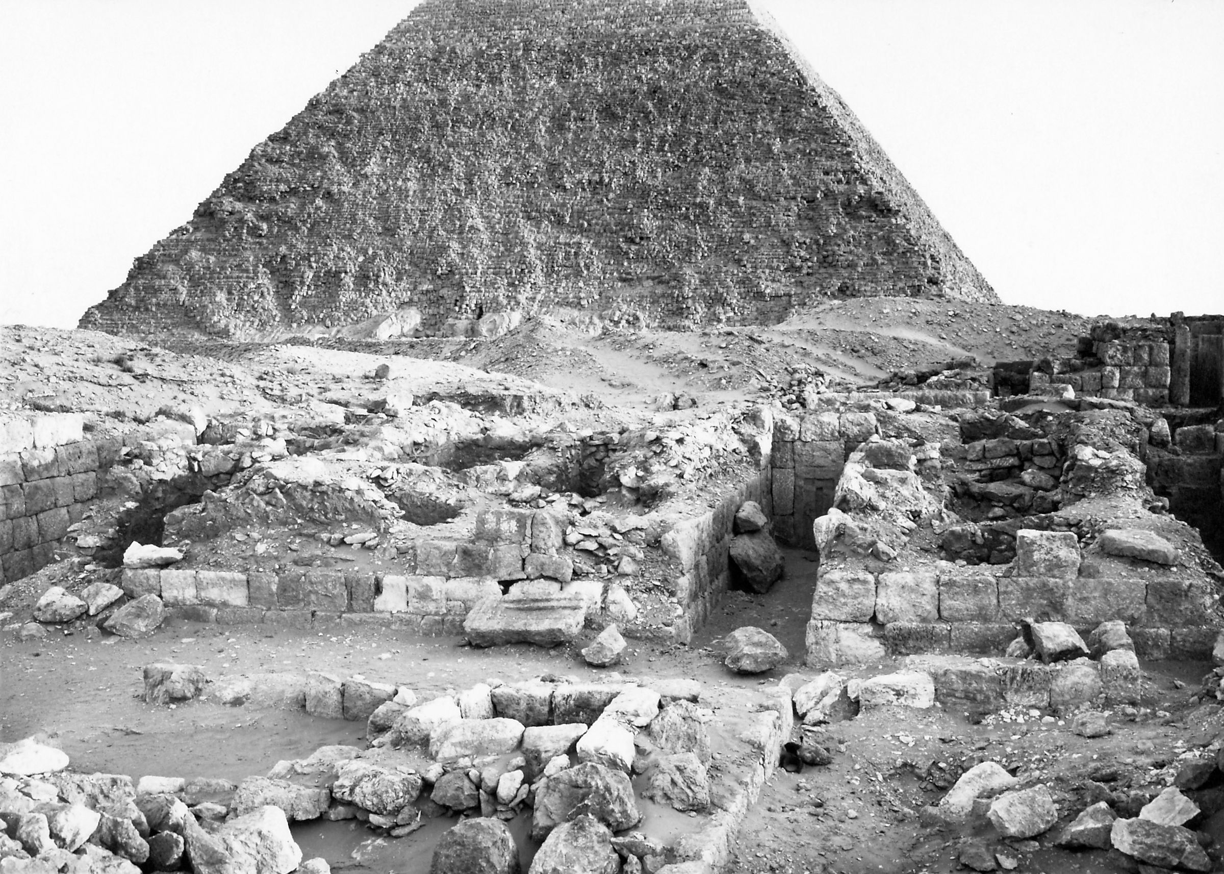 Western Cemetery: Site: Giza; View: S 2570, S 2551/2558, S 2560/2562